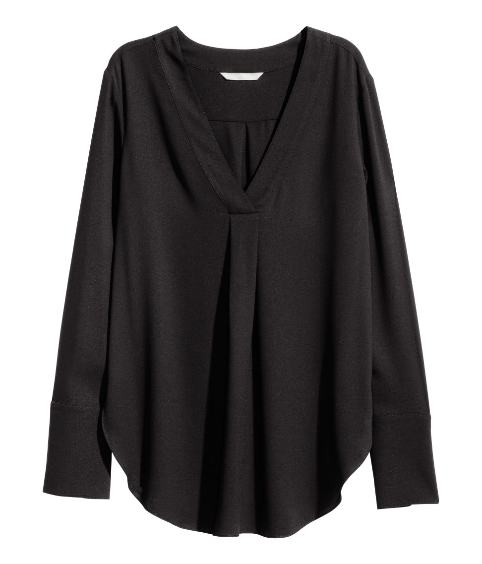 V Neck Blouse H&M 56