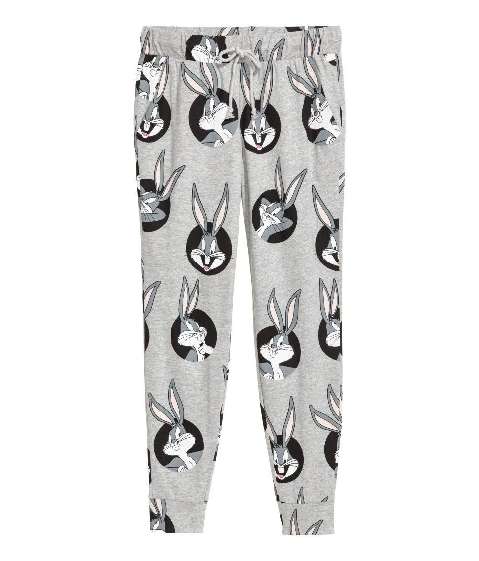 Patterned Joggers Unique Design