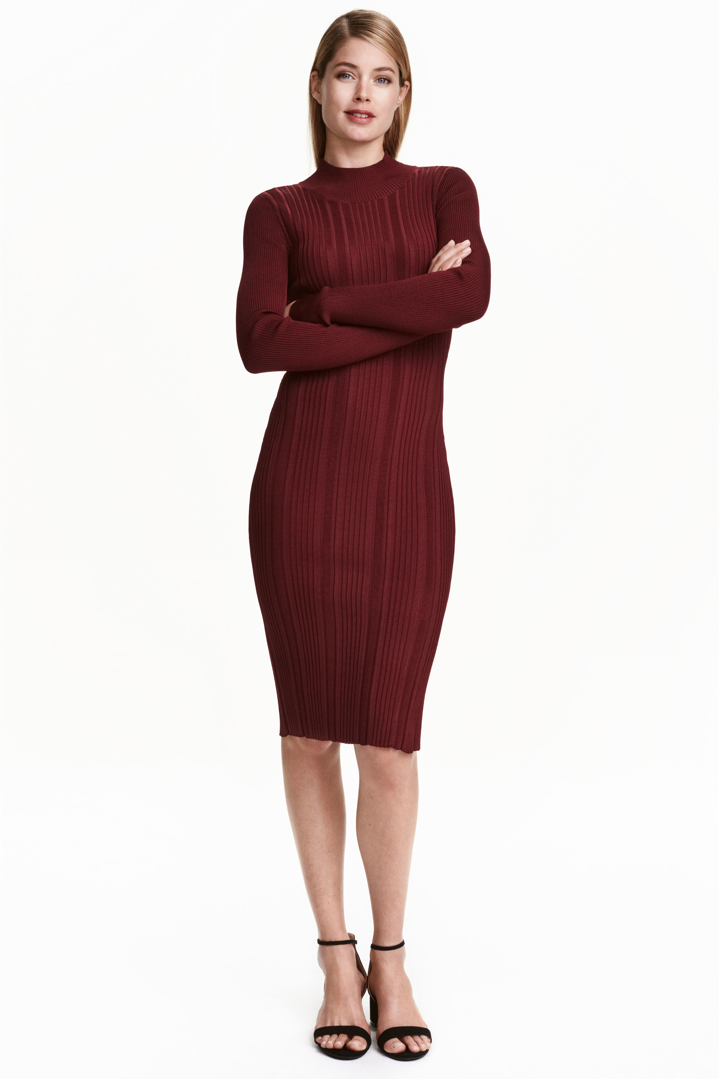 H&M Black X Lanvin Crossover Draped Puff Sleeve Lbd Cocktail Dress $ $ US 4 (S).