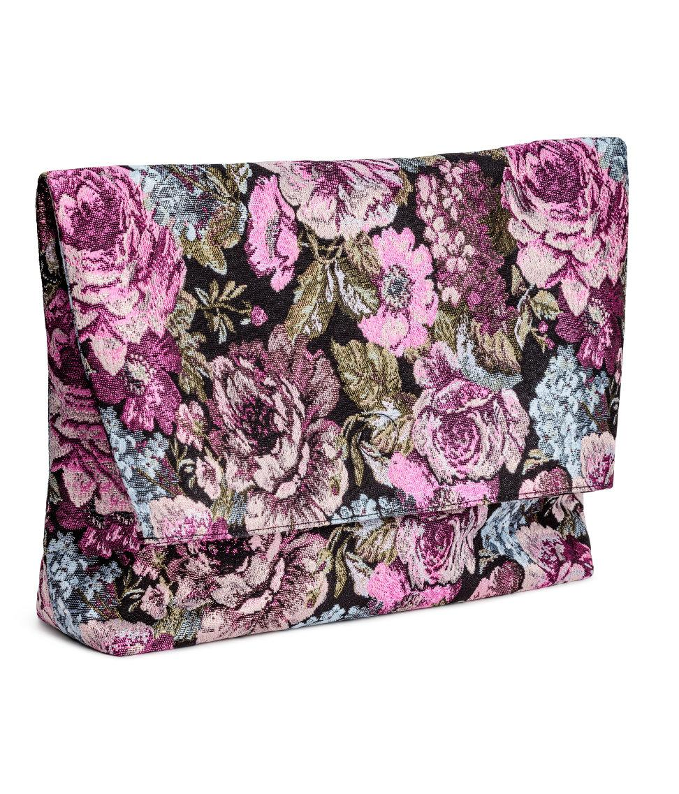 Great Deals For Sale jacquard fold-over oversized clutch - Multicolour Christian Wijnants Hard Wearing mcDdJy0t