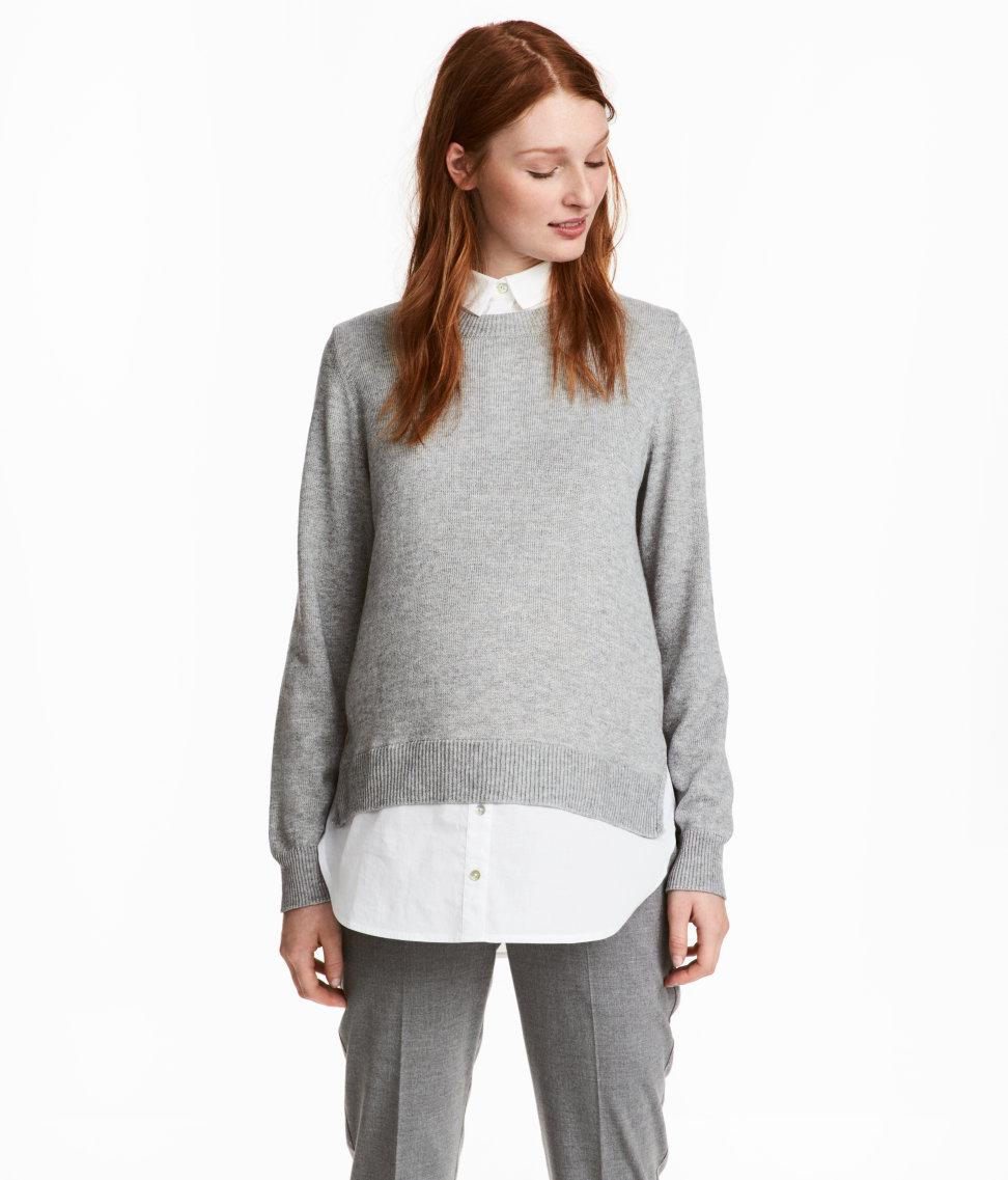 New Online Cheap Sale Popular H&M MAMA Jumper with lacing Sale Sale Online cNecOi05