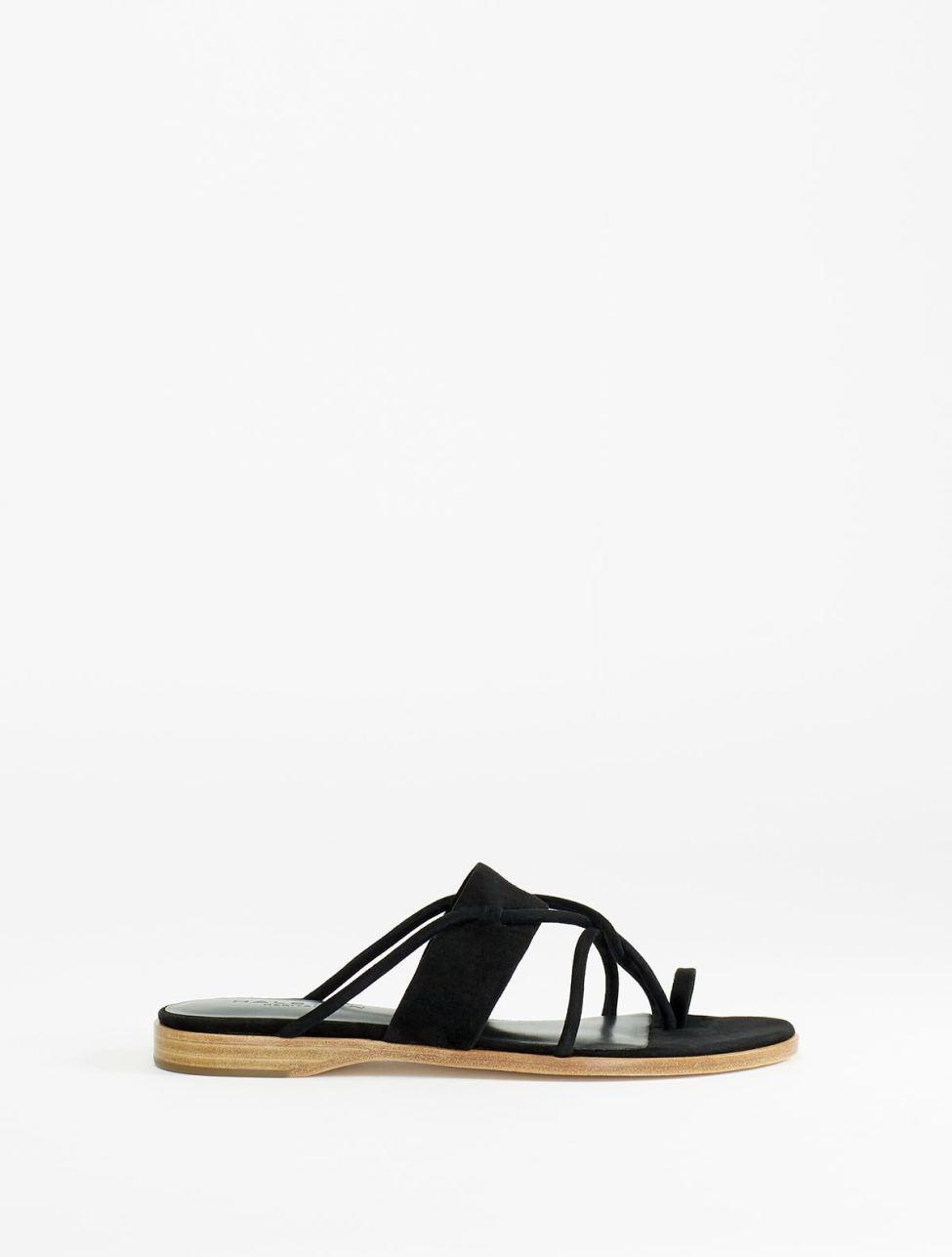 Halston Heritage Woman Estella Frayed Basketweave Canvas Slides Black Size 5 Halston Heritage Buy Cheap Discount Outlet Low Cost Shopping Discounts Online VgiNnuV