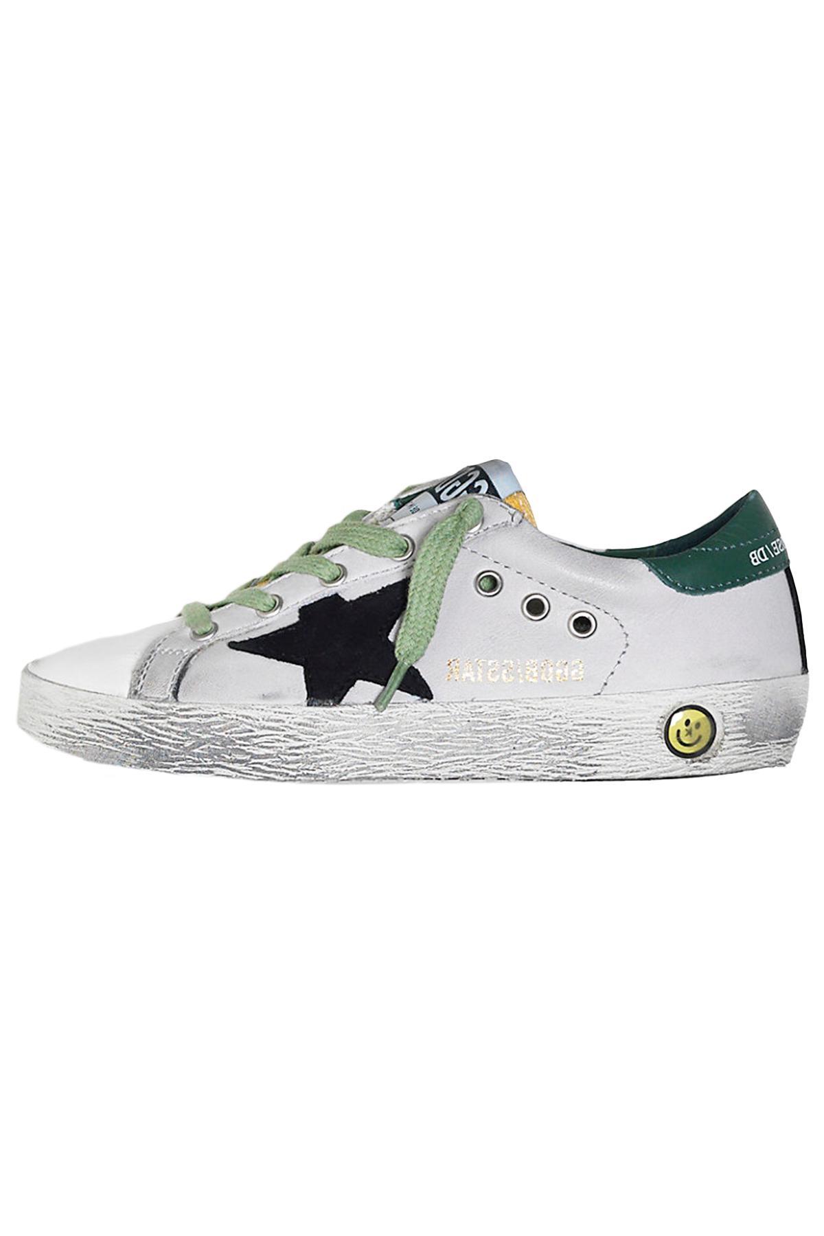 b010c488687d6 Golden Goose Deluxe Brand Kids Superstar Sneaker In Ice Leather ...