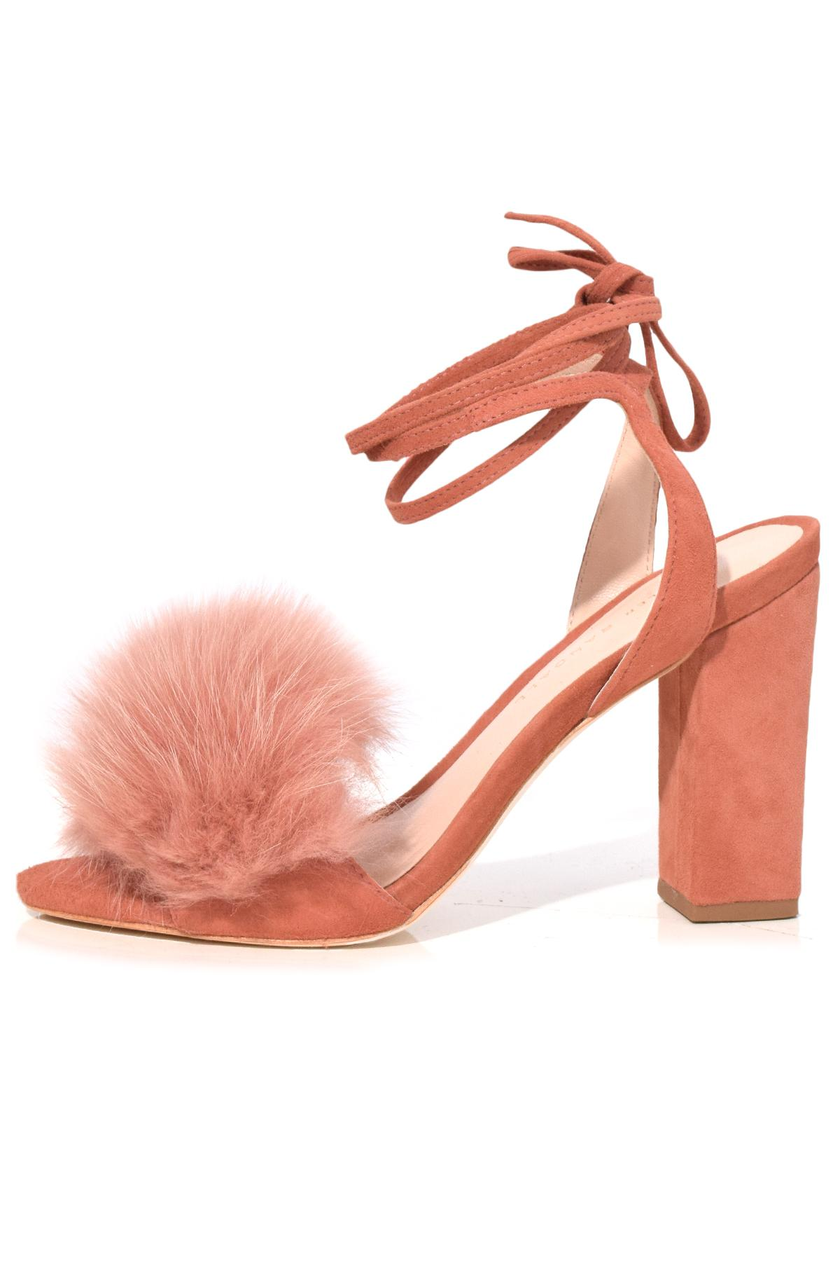 Lyst Simon Miller Nicolette Sandal In Dusty Rose In Pink