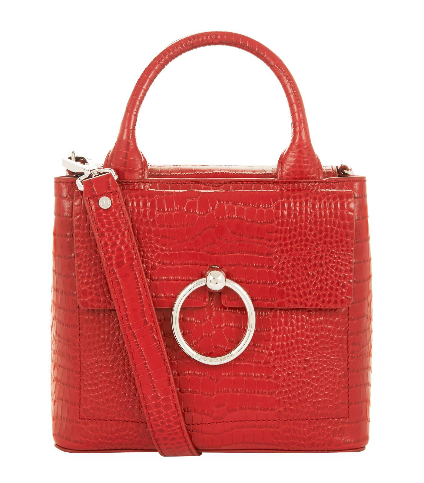 97c12c73e1e6 Claudie Pierlot Small Top Handle Bag in Red - Lyst