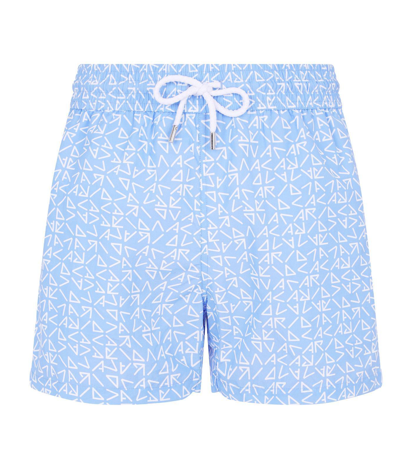 10a8e015b7 Lyst - Frescobol Carioca Triangle Sports Swim Shorts in Blue for Men