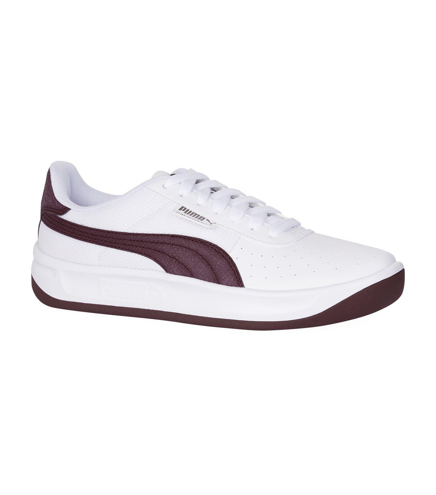 45892ed5e1dd2 PUMA California Scratch Sneakers in White - Lyst