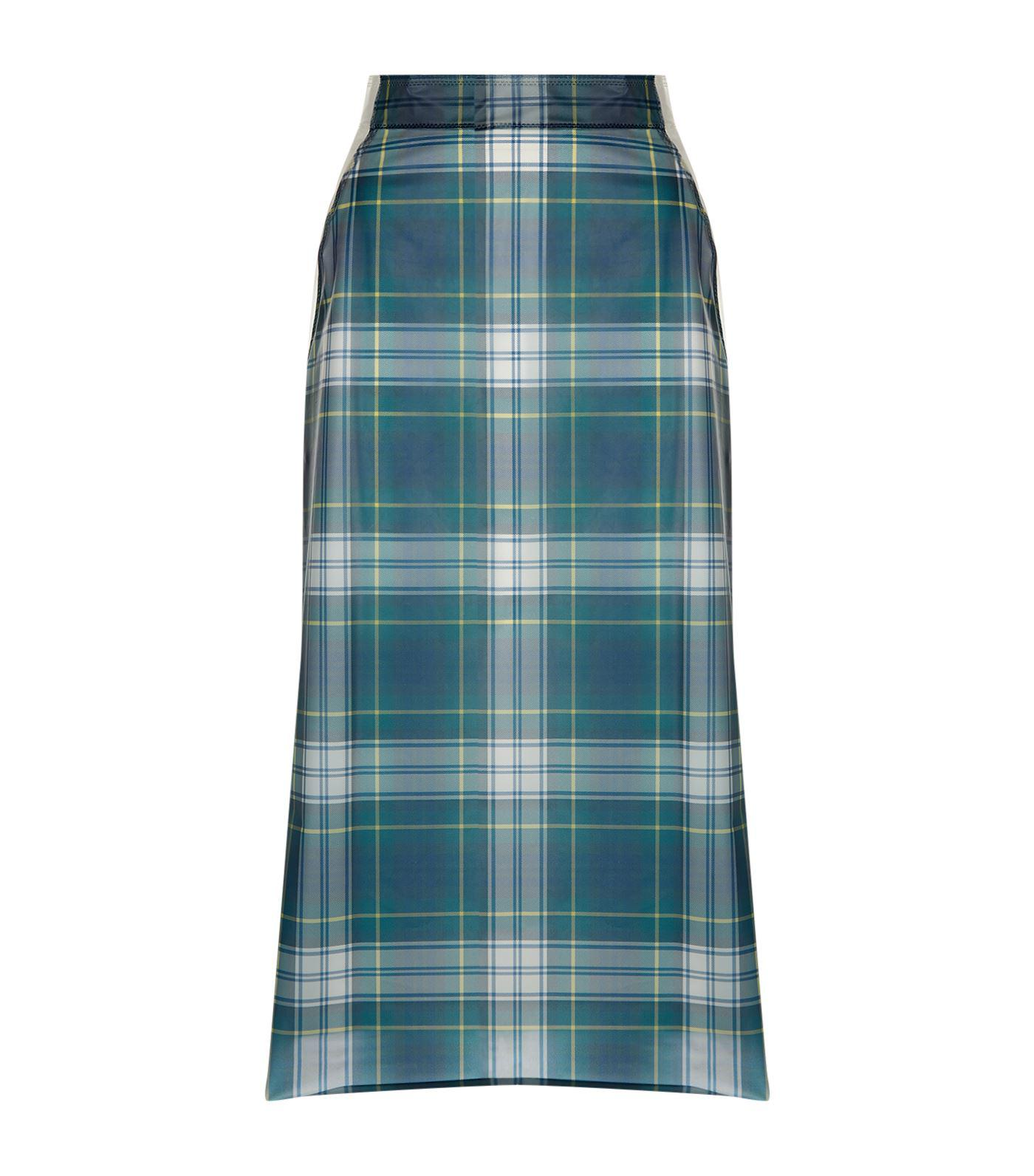 c1b3b012f Burberry Translucent A-line Skirt in Blue - Lyst