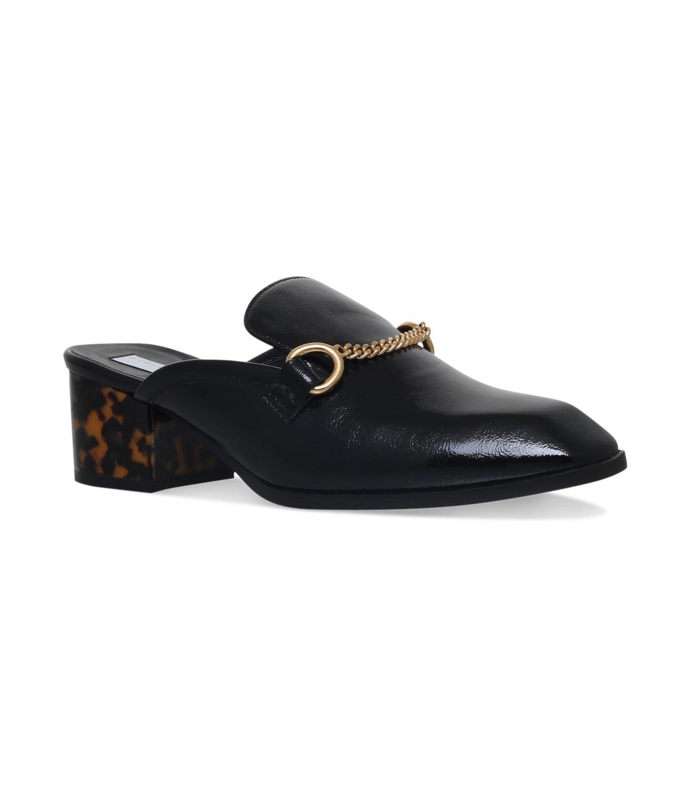 Stella McCartney Black Princetown Slip-On Loafers EsQ1IBI