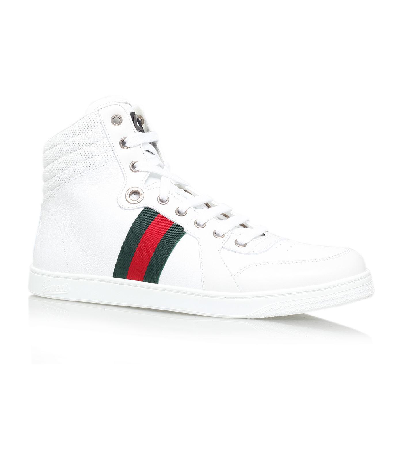 c2b1203b4b66 Lyst - Gucci Coda High-top Sneaker in White for Men