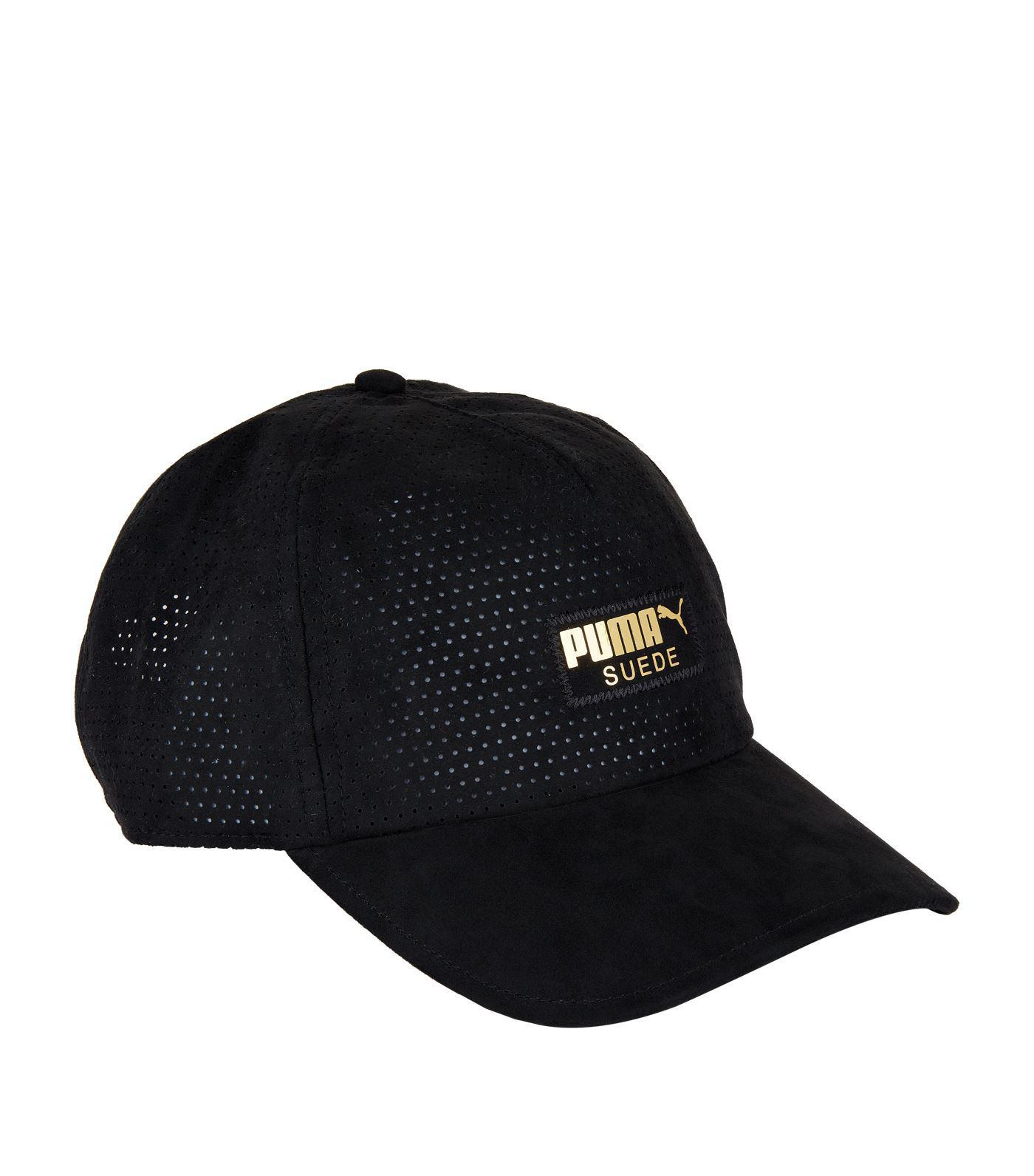 2a5bb7c838c PUMA Suede Pace Cap in Black for Men - Lyst