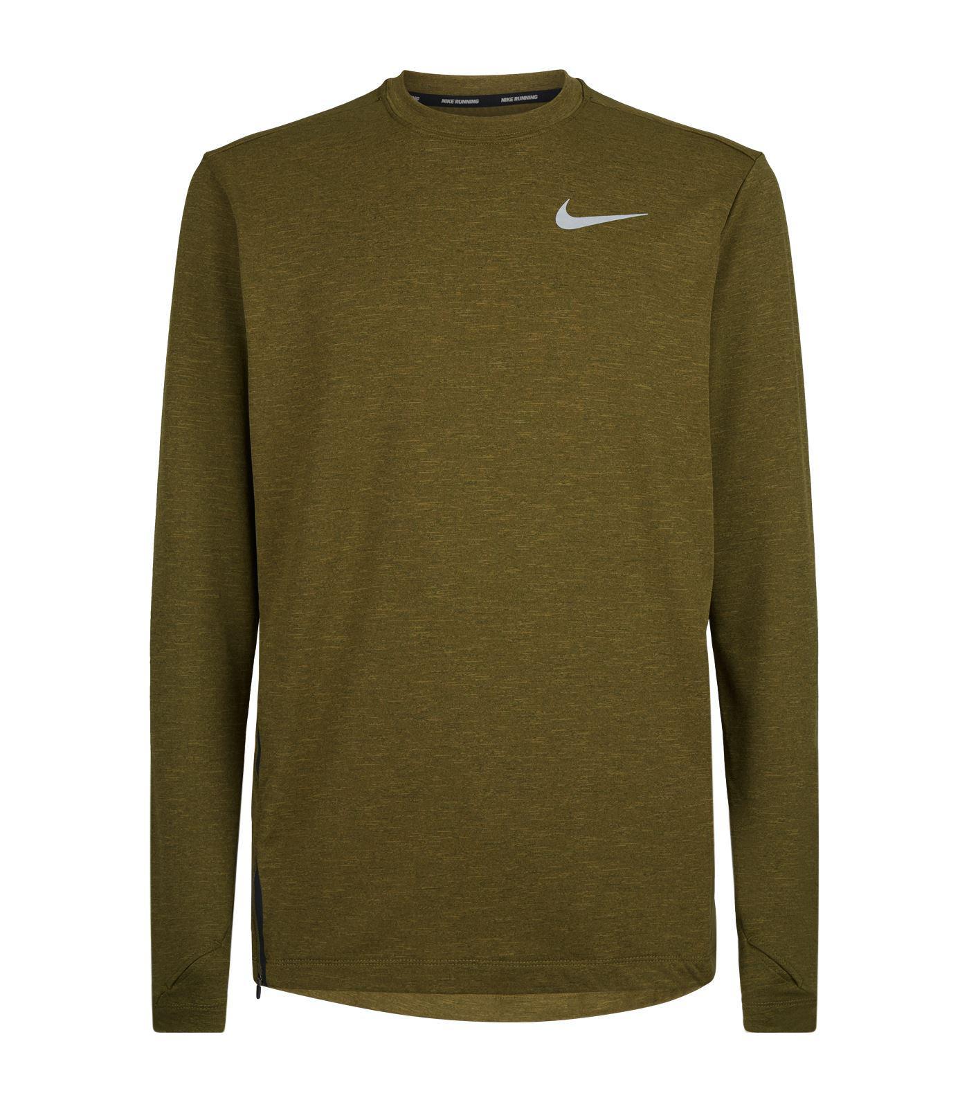 8317d121 Lyst - Nike Sphere Element 2.0 T-shirt in Green for Men