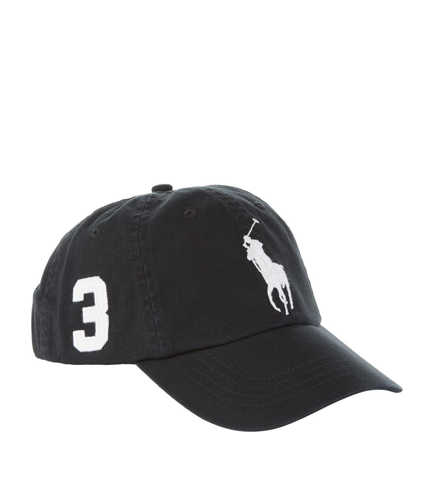 d80b6d550e6 Ralph Lauren Rl Sport Cap Med Pp Rl Black in Black for Men - Lyst