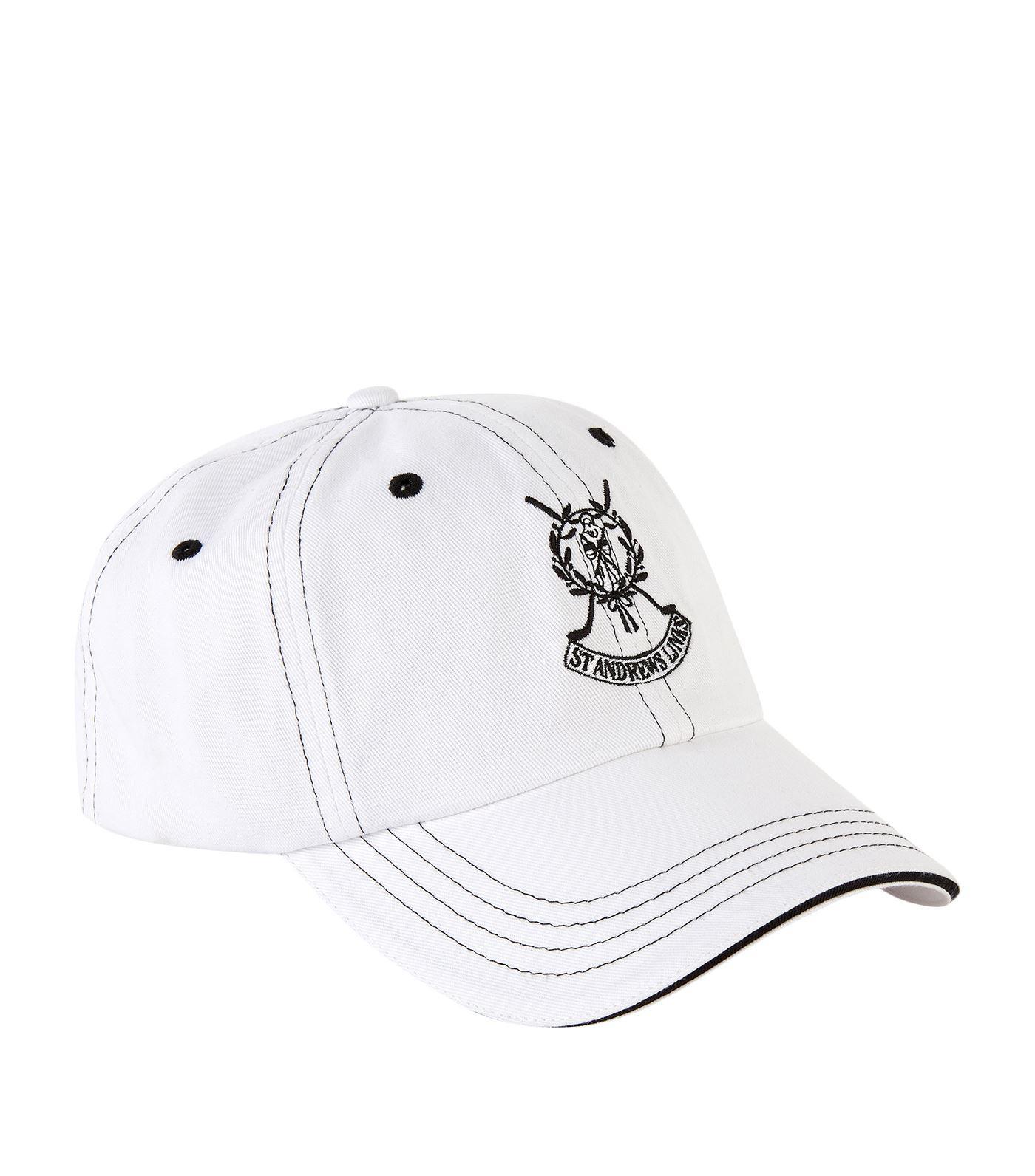 b92ea18f8f8 Harrods St Andrews Links Golf Cap in White for Men - Lyst
