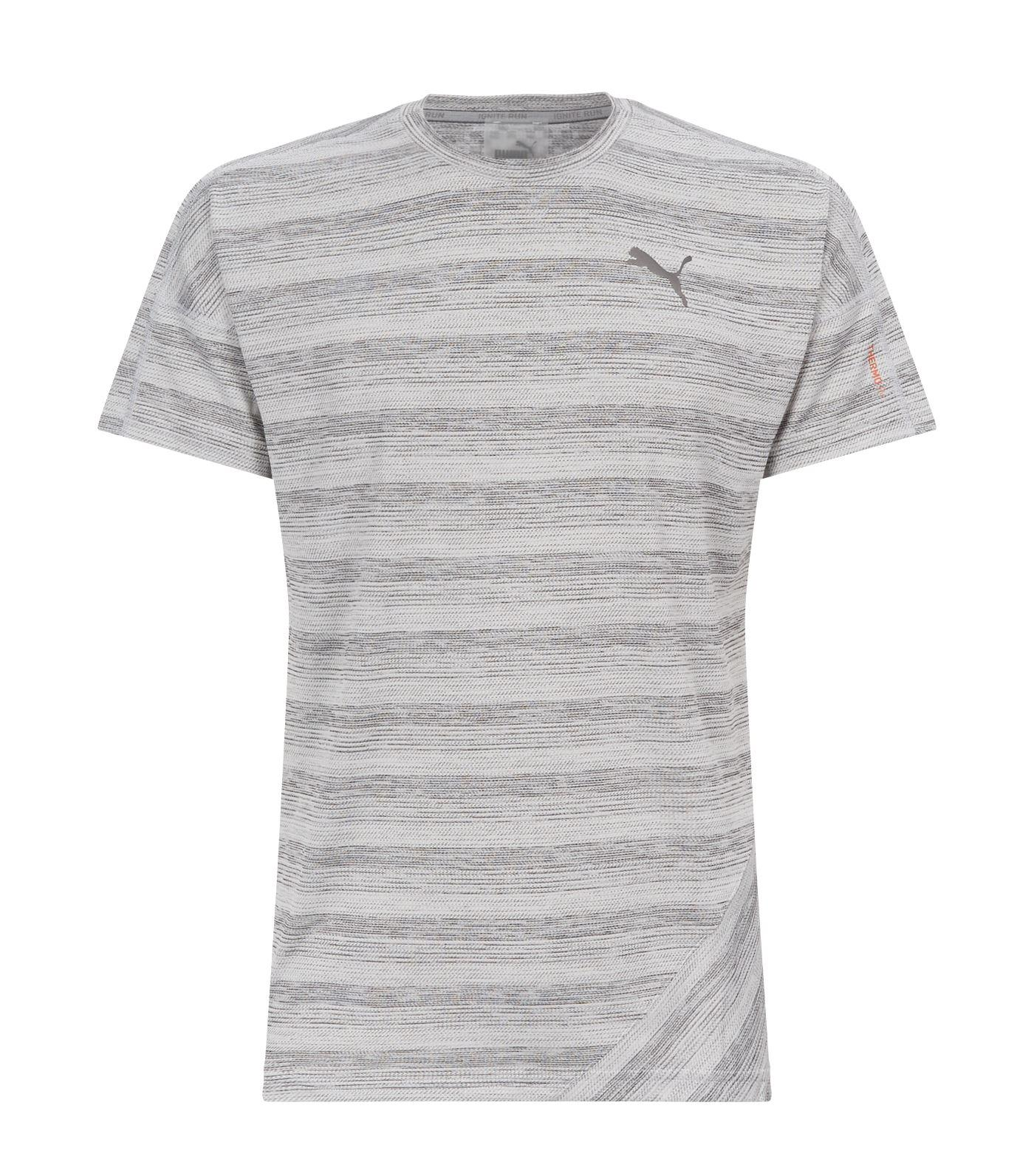 991e1643030 Lyst - PUMA Pace Short Sleeve T-shirt in Gray for Men - Save 13%