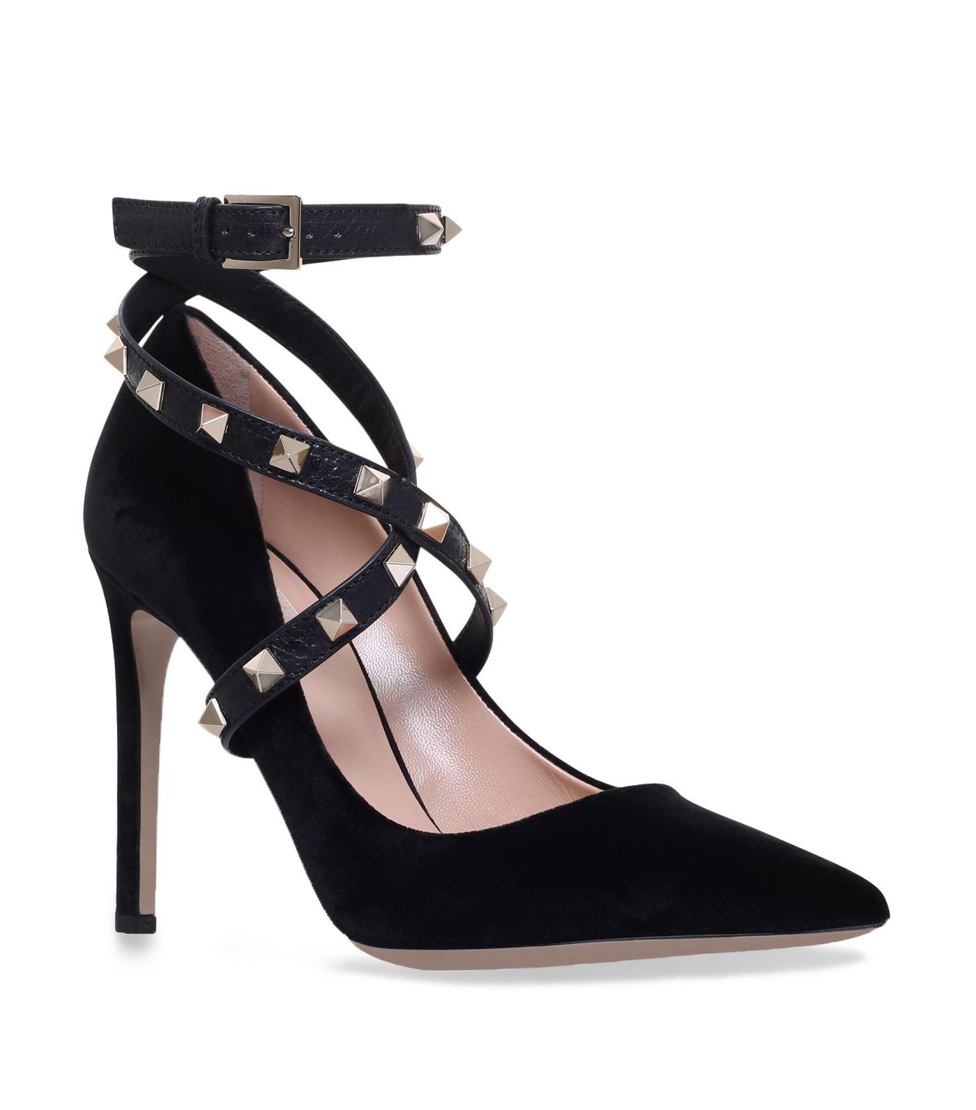 Valentino Suede Jewel-Embellished Pumps outlet sast buy cheap 100% guaranteed rknXbWZ5om