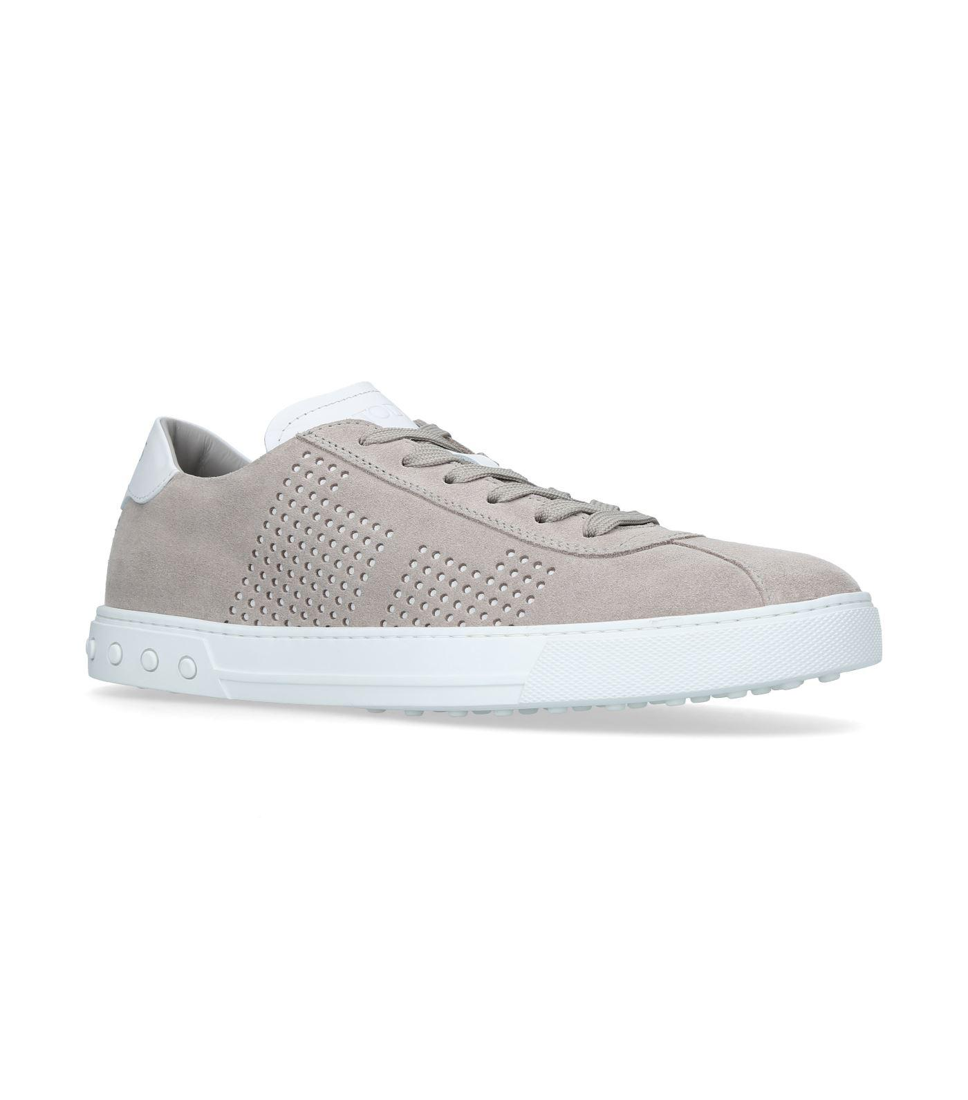 Tod's. Women's Grey New Owens Trainers