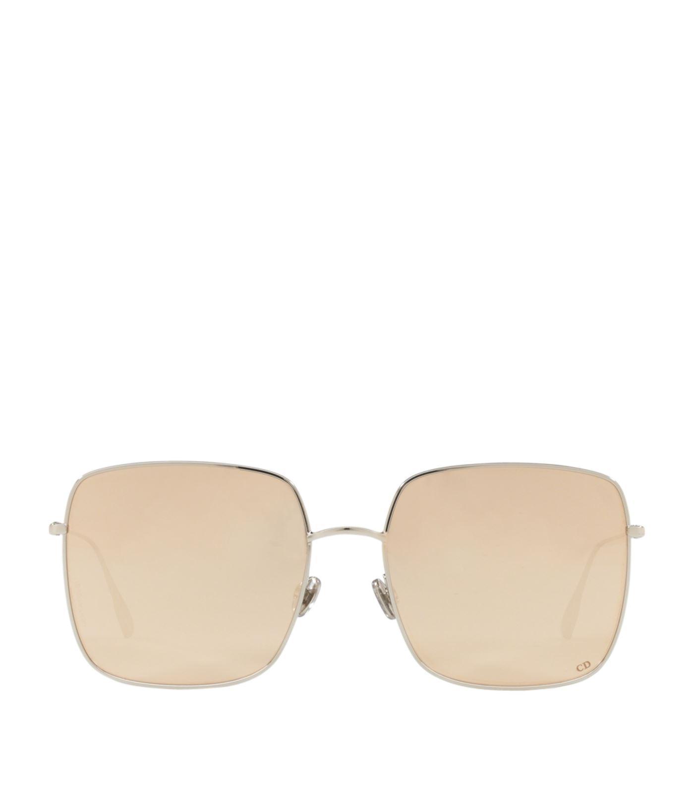 d22b2dbdc7 Dior Stellaire Square Sunglasses in Metallic - Lyst