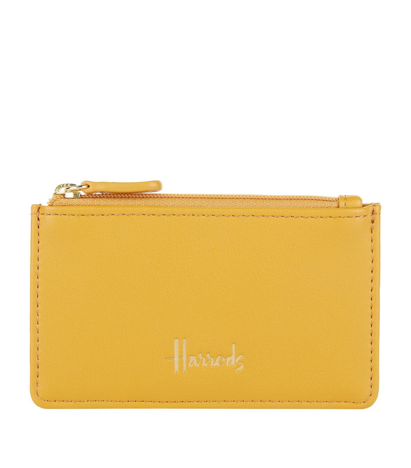 b8a7cf47716e Lyst - Harrods Compton Card Holder in Yellow