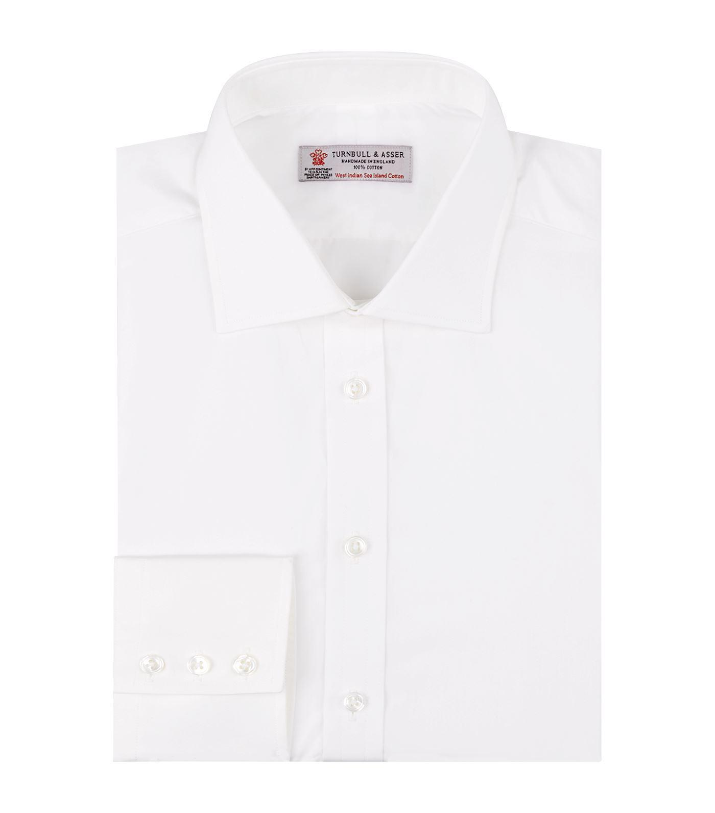 Lyst Turnbull Asser Sea Island Cotton Shirt In White For Men