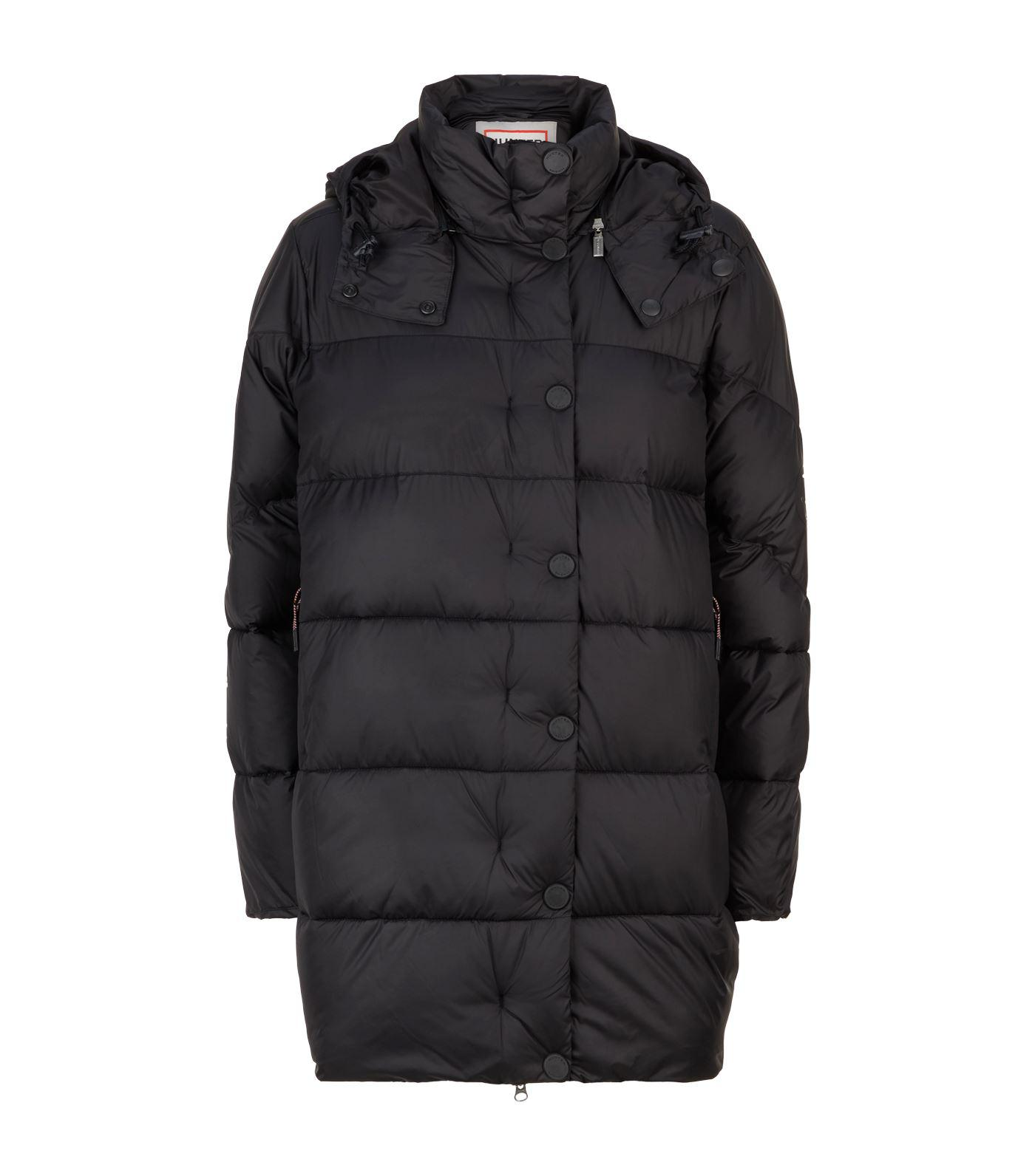 363fbccae6a91 HUNTER Original Puffer Jacket in Black - Lyst