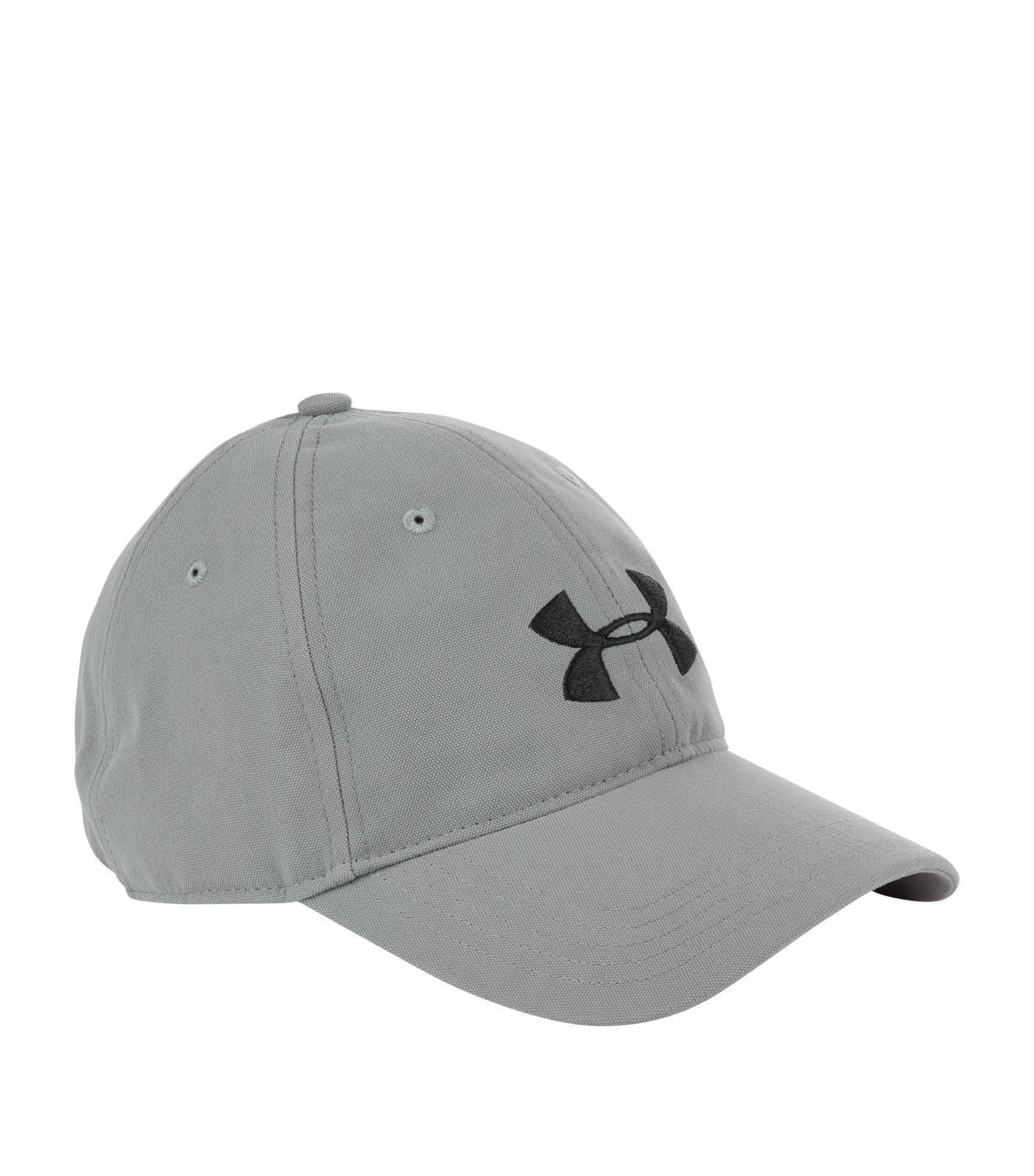 Lyst - Under Armour Core Canvas Dad Cap in Gray for Men 372fd8aa00b2