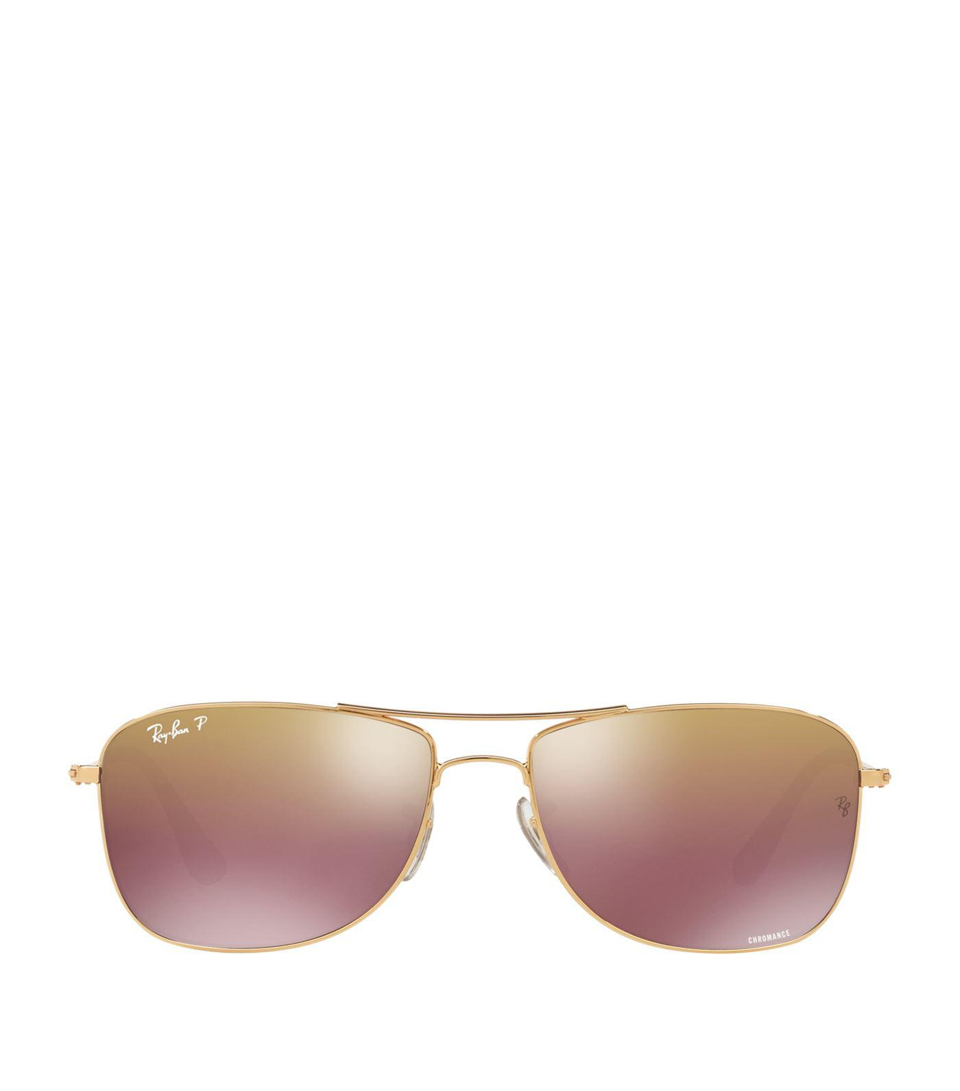 c1726fe9a1 Ray-Ban Chromance Sunglasses in Metallic for Men - Lyst