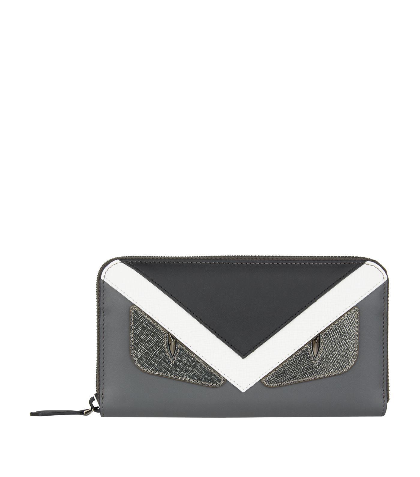 Lyst - Fendi Monster Eyes Wallet for Men 469ac990b86bd