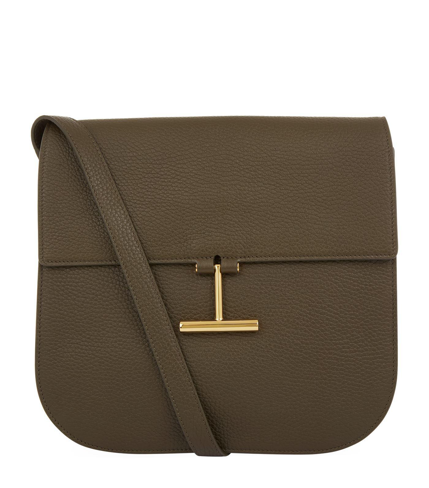 Tara Textured-leather Shoulder Bag - Black Tom Ford CB1eJSOM