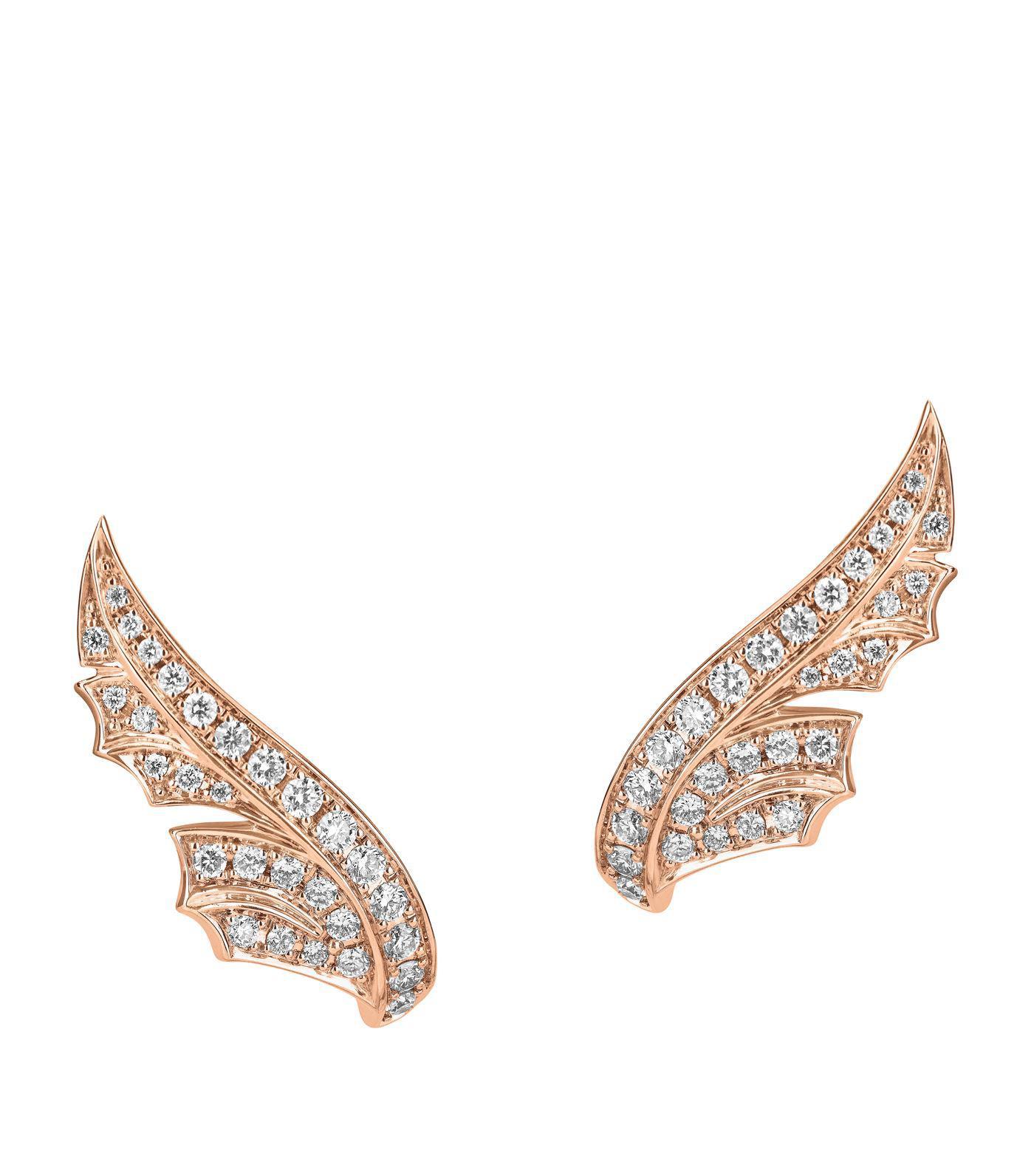 Magnipheasant 18-karat Gold Diamond Hoop Earrings - one size Stephen Webster 99gRwf