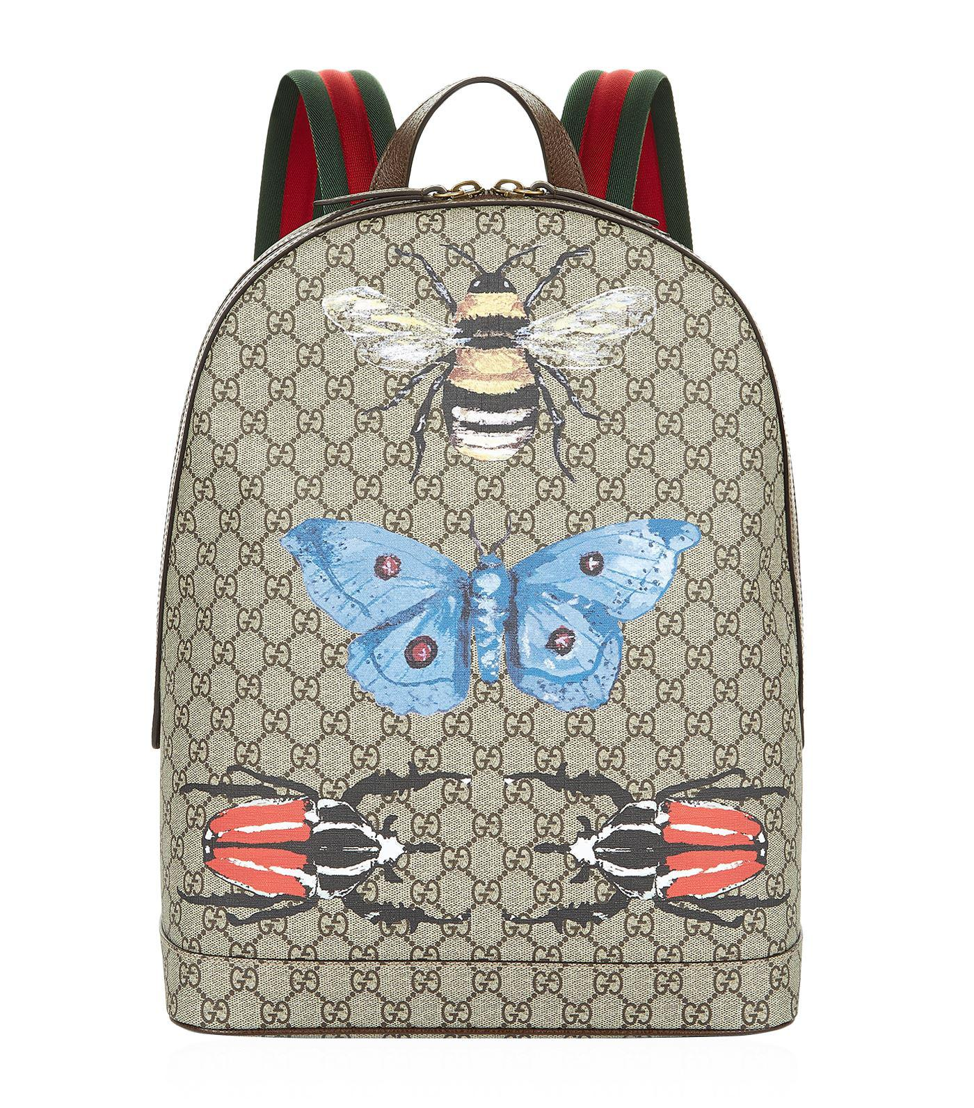fb69d32675b6 Gucci Insect Backpack in Natural - Lyst