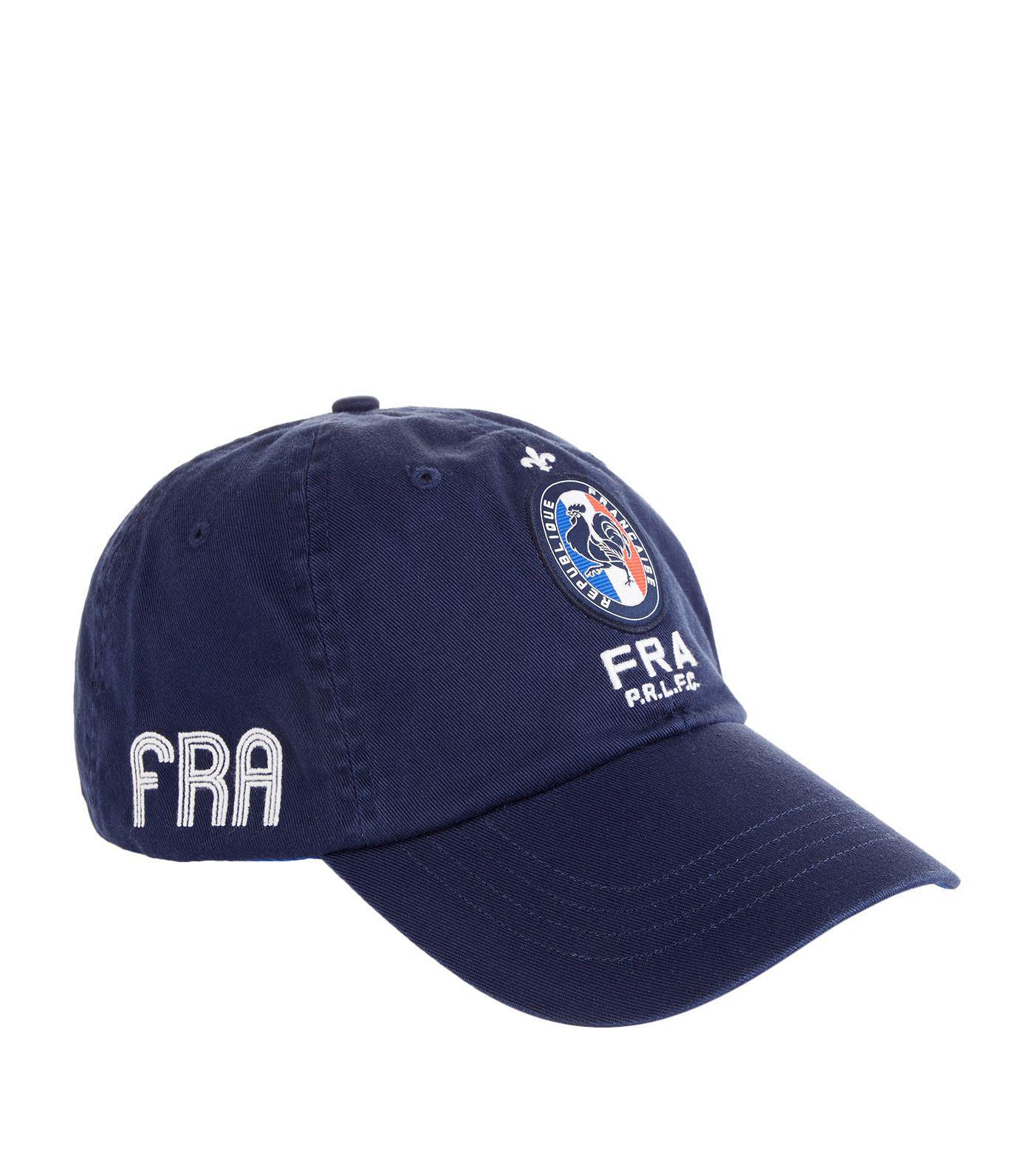 Lyst - Polo Ralph Lauren France Badge Cap in Blue for Men 431da66040fe