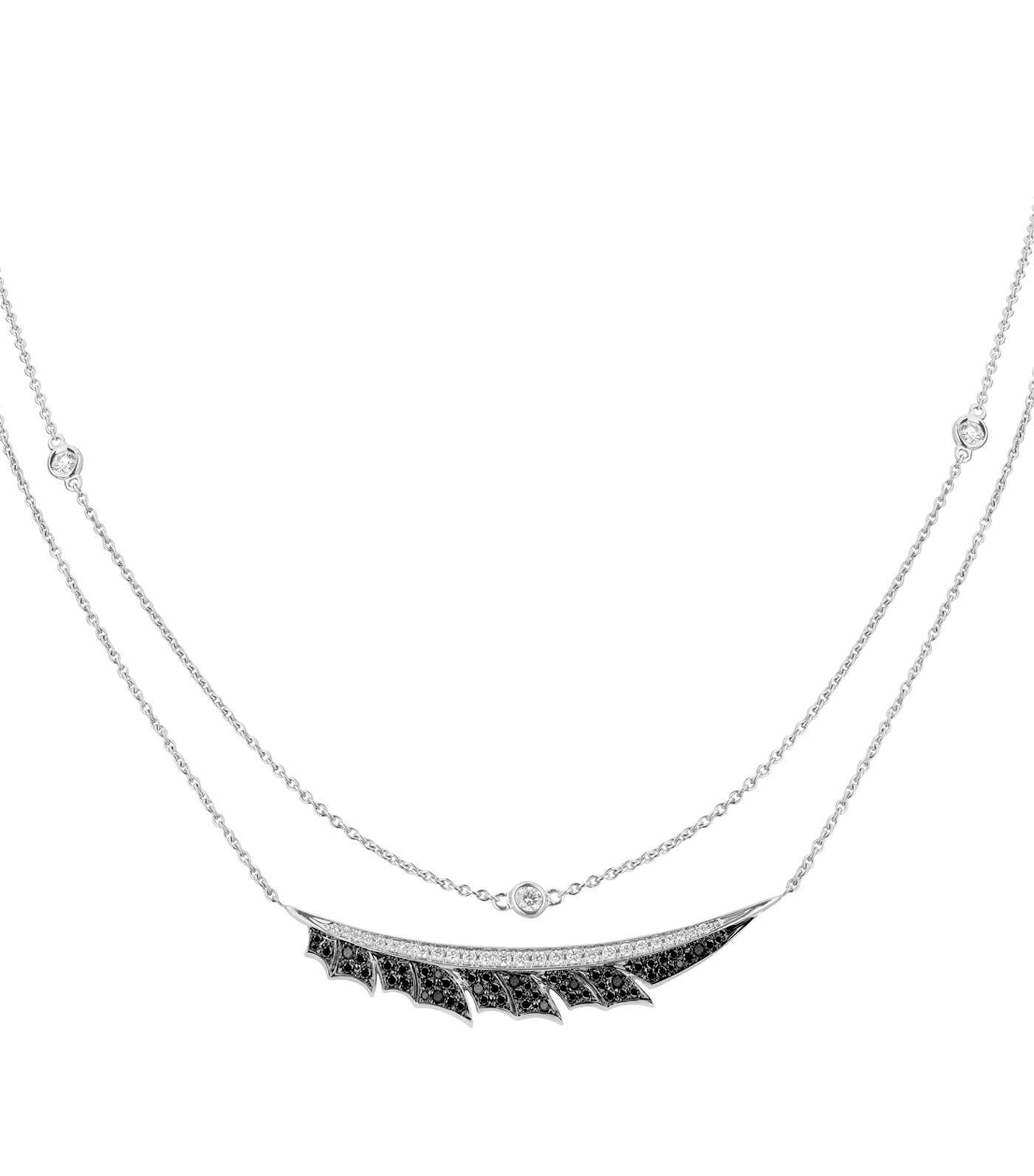 Magnipheasant 18-karat Gold Diamond Necklace - one size Stephen Webster T7NAoOPR9I