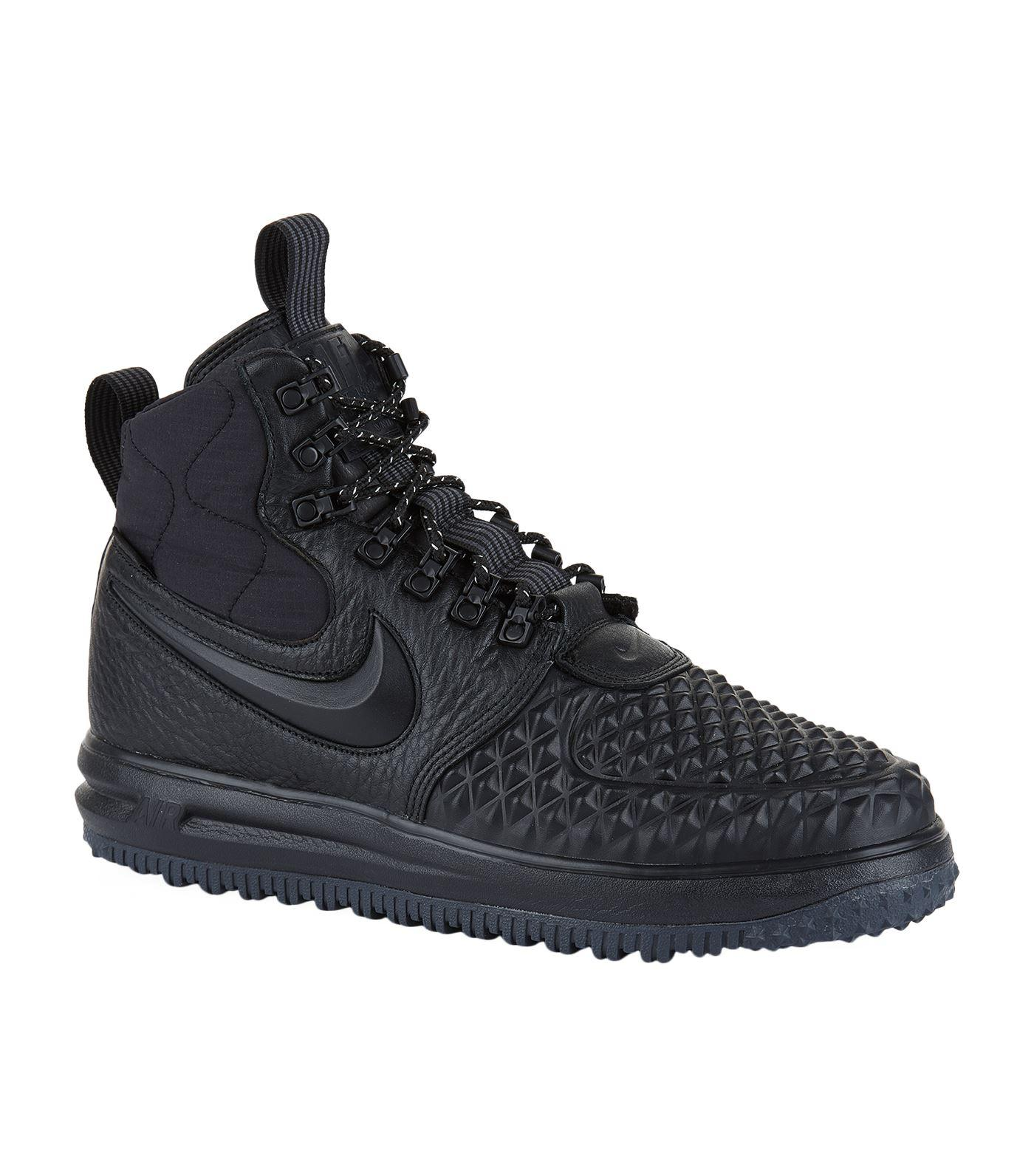 Nike. Men's Black Lunar Force 1 Duckboot