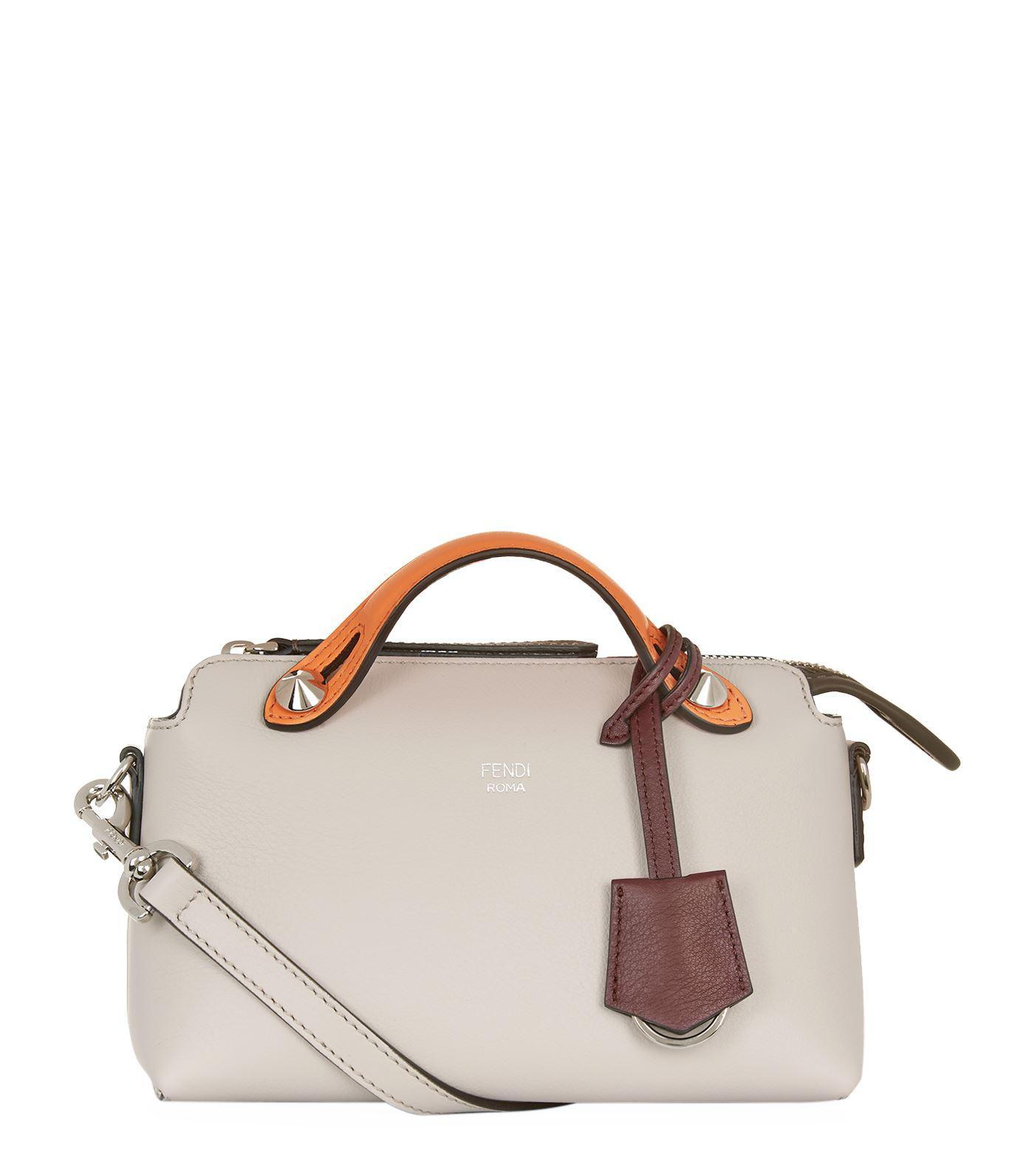 ... canada lyst fendi small by the way boston bag white one size in white  9bf6b 1523e 4cf1d405dc