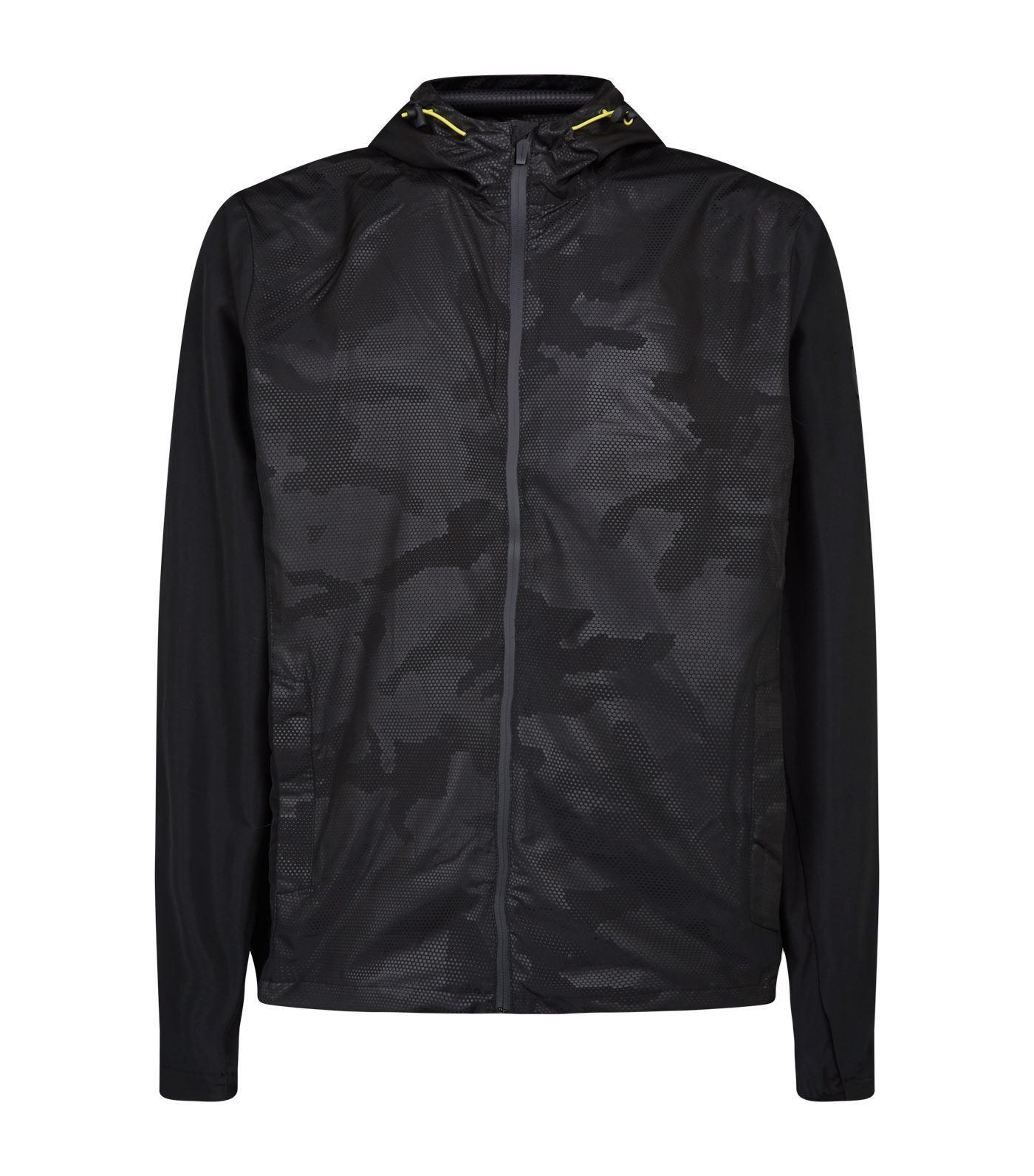 2522d40b89 Lyst - Hackett Aston Martin Zipped Jacket in Black for Men