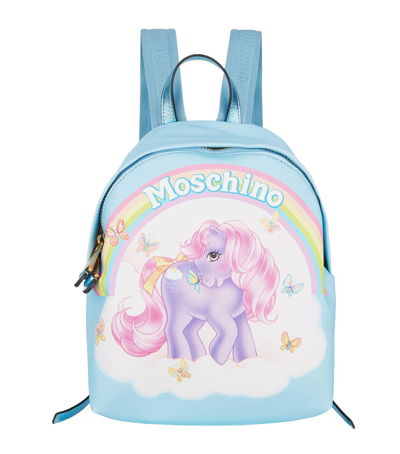 My Little Pony backpack - Pink & Purple Moschino tZN286zRZ