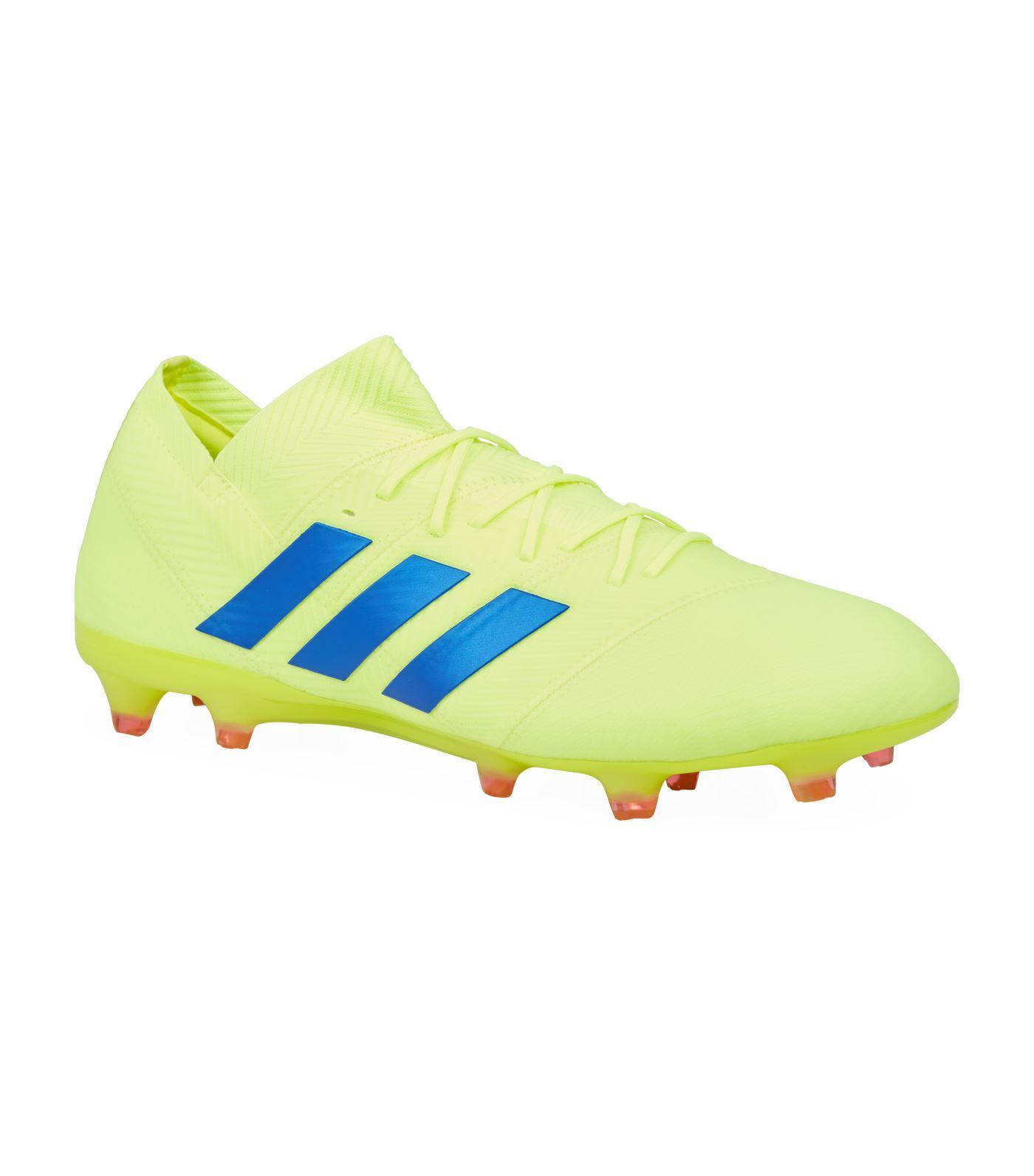 on sale 6a91b 6e5e7 adidas. Mens Yellow Nemeziz 18.1 Firm Ground Football Boots