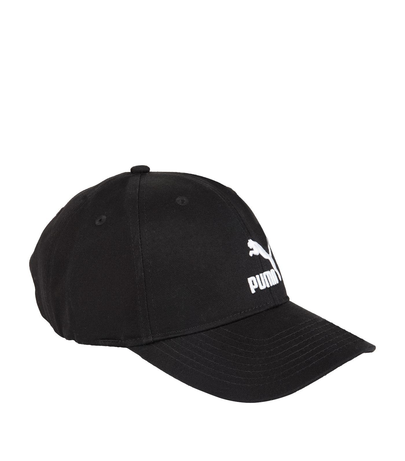 167424a1379c2 Lyst - Puma Archive Logo Cap in Black for Men