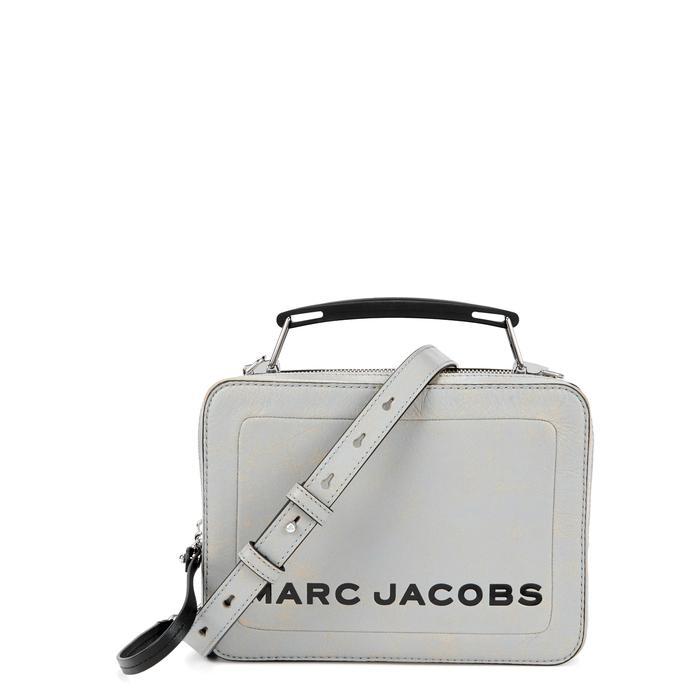 Marc Jacobs - Gray Grey Distressed Leather Box Bag - Lyst. View fullscreen 71096d09cda86