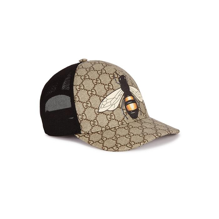 2c70c3f5d83 Gucci GG Supreme Coated Canvas Cap in Natural for Men - Save 22% - Lyst