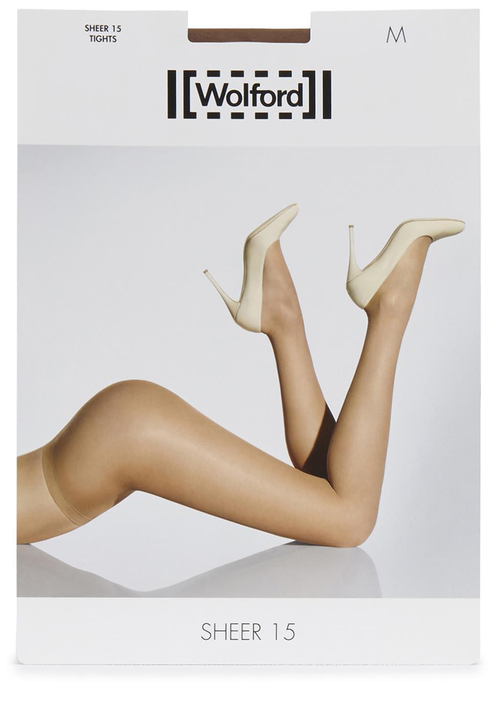 e8465cf5f7cb9 Lyst - Wolford Honey Sheer 15 Denier Tights in Natural