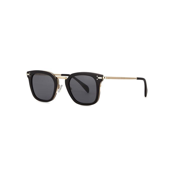172a723dab Céline. Women s Vic Black Clubmaster-style Sunglasses. £319 From Harvey  Nichols