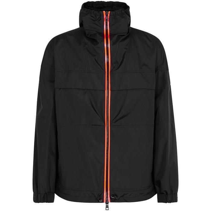 9d46af75bde3 Lyst - Moncler Thiou Black Hooded Shell Jacket in Black for Men