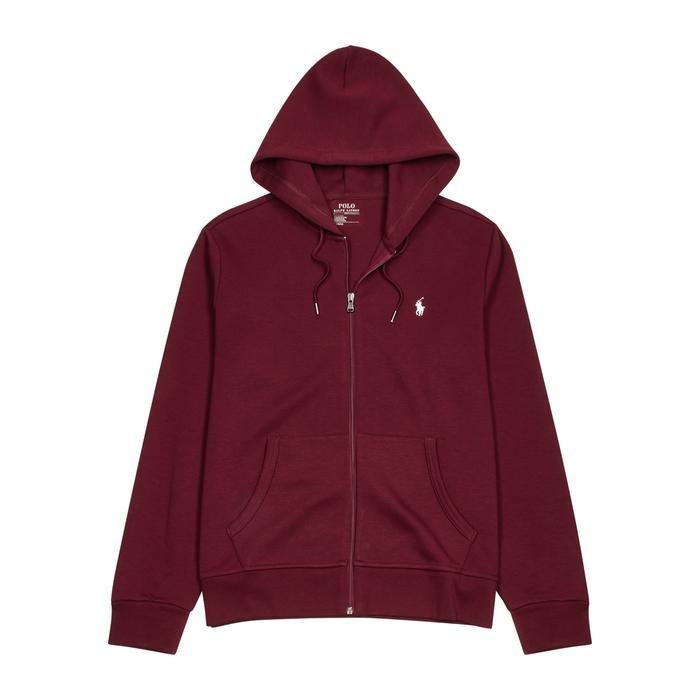cf1ef7d4c969f Polo Ralph Lauren Bordeaux Hooded Jersey Sweatshirt in Red for Men ...