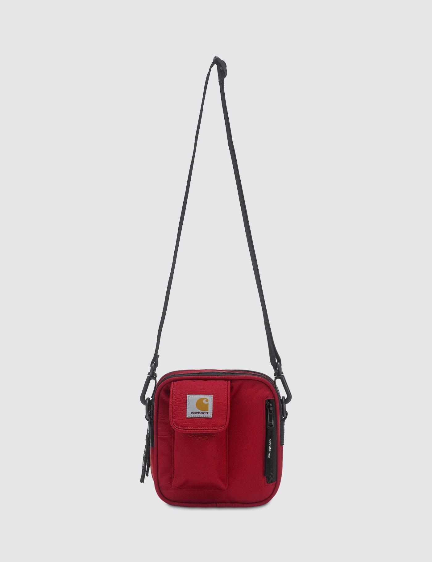 Carhartt WIP - Red Essentials Bag Small for Men - Lyst. View fullscreen 7296ad6ea4d5f
