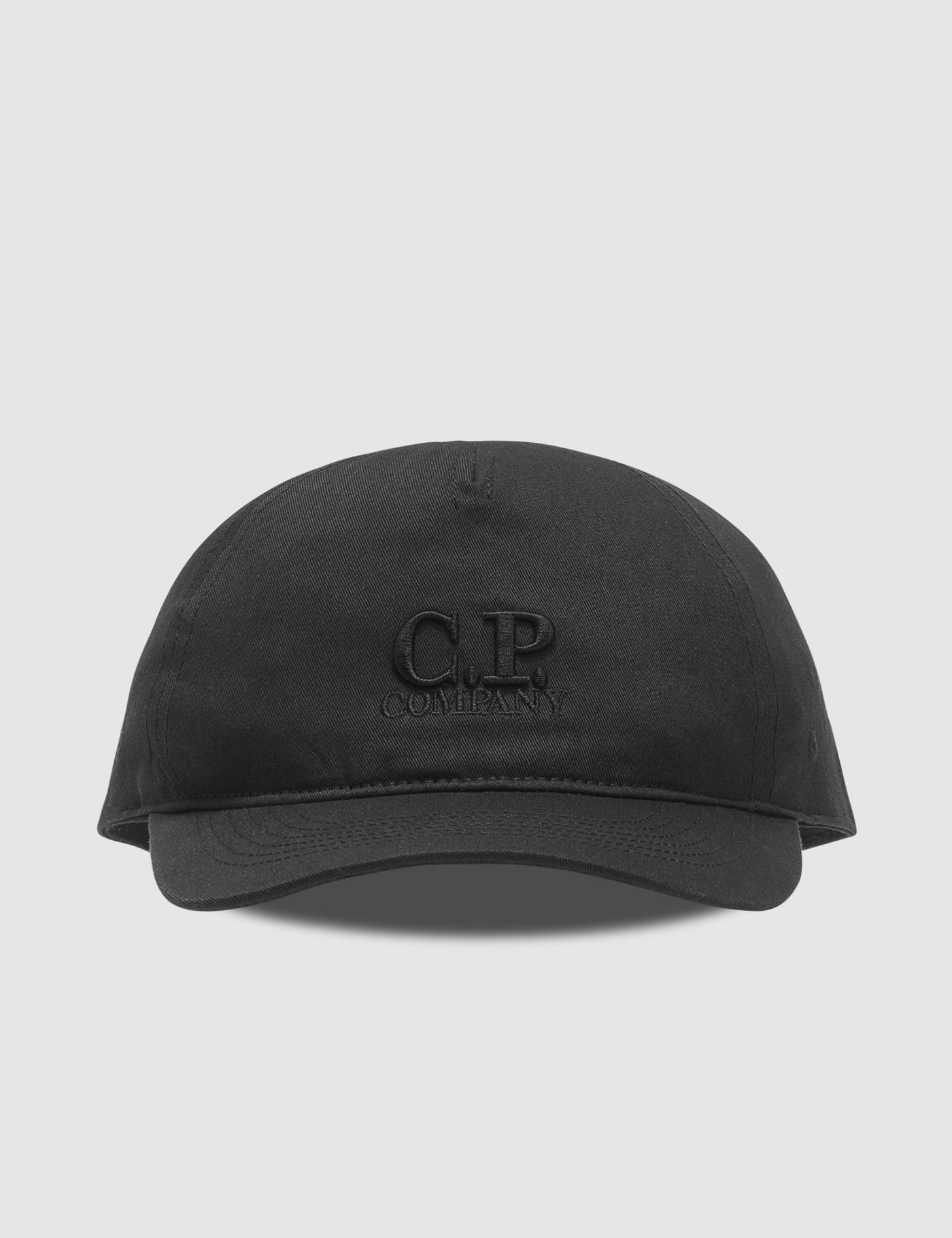 a42b2f20b0b Lyst - C P Company Baseball Cap in Black for Men