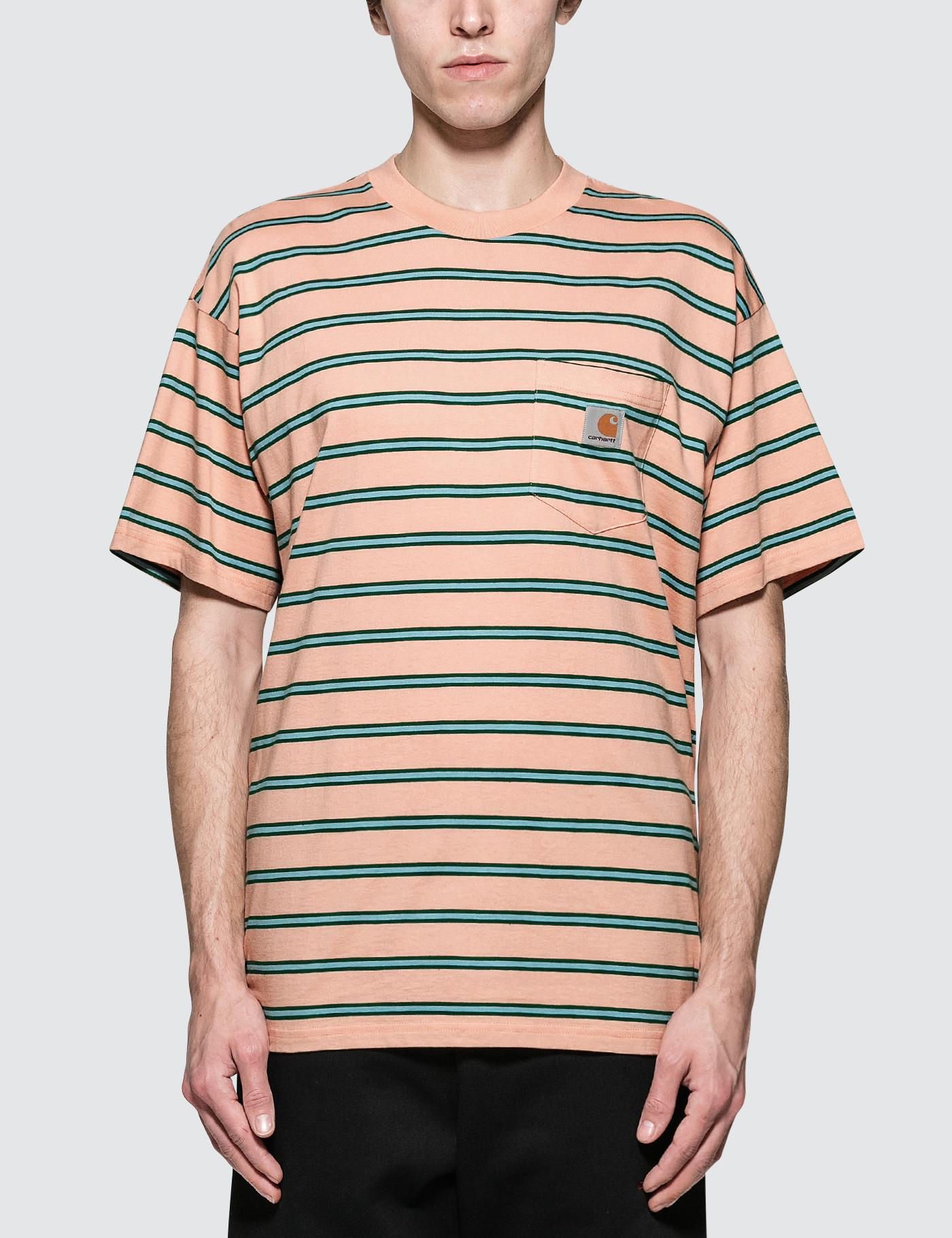 1ff28bc0ca78 Carhartt WIP Houston Pocket S s T-shirt in Pink for Men - Save 33 ...