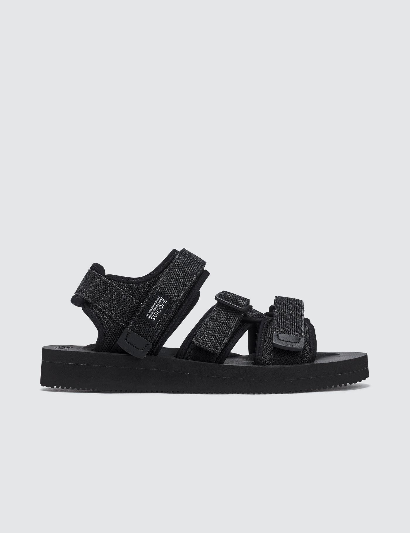 b971fda93ed2 Suicoke Kisee-vkn Sandals in Black for Men - Lyst
