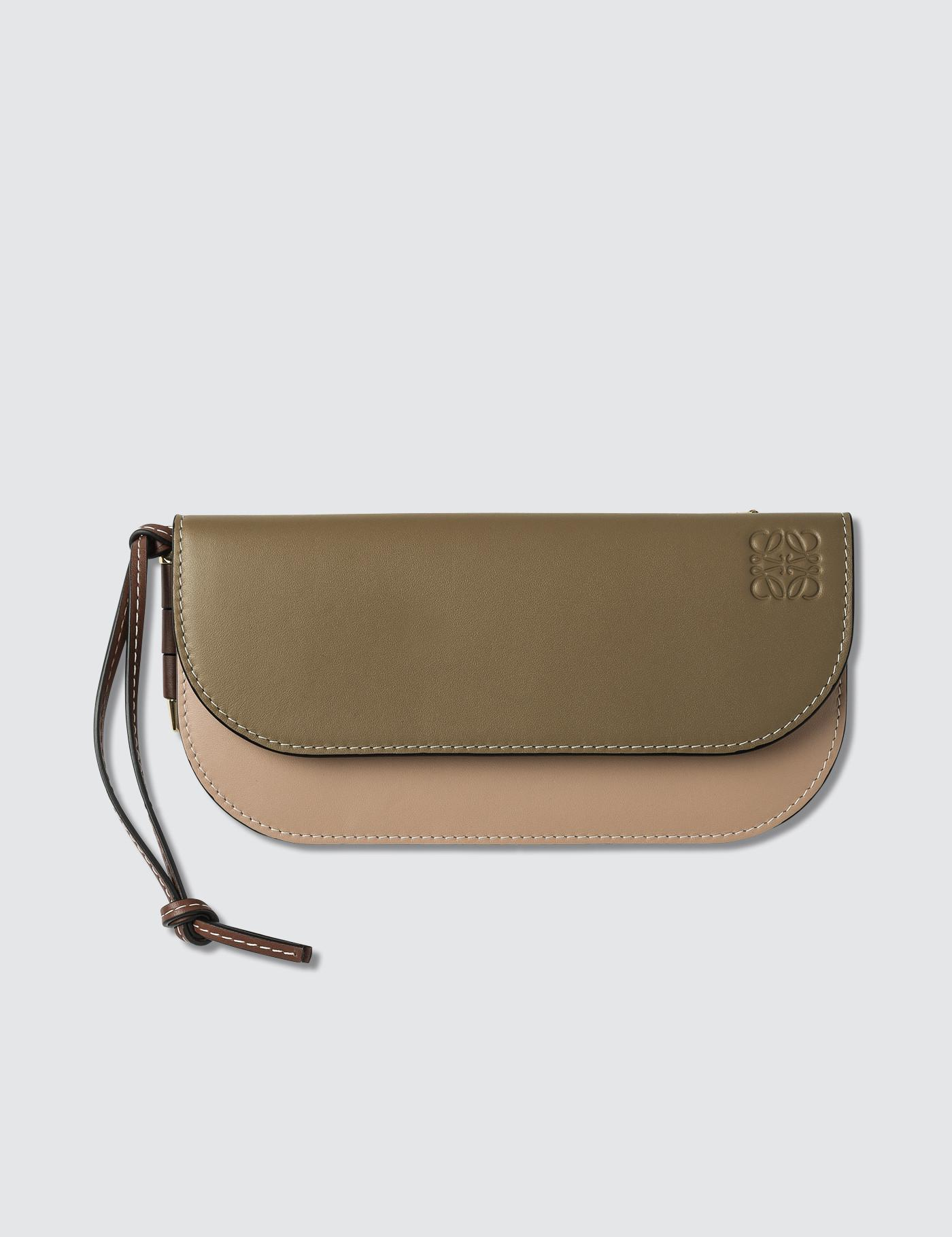 77682773eb0c Lyst - Loewe Gate Continental Wallet in Natural